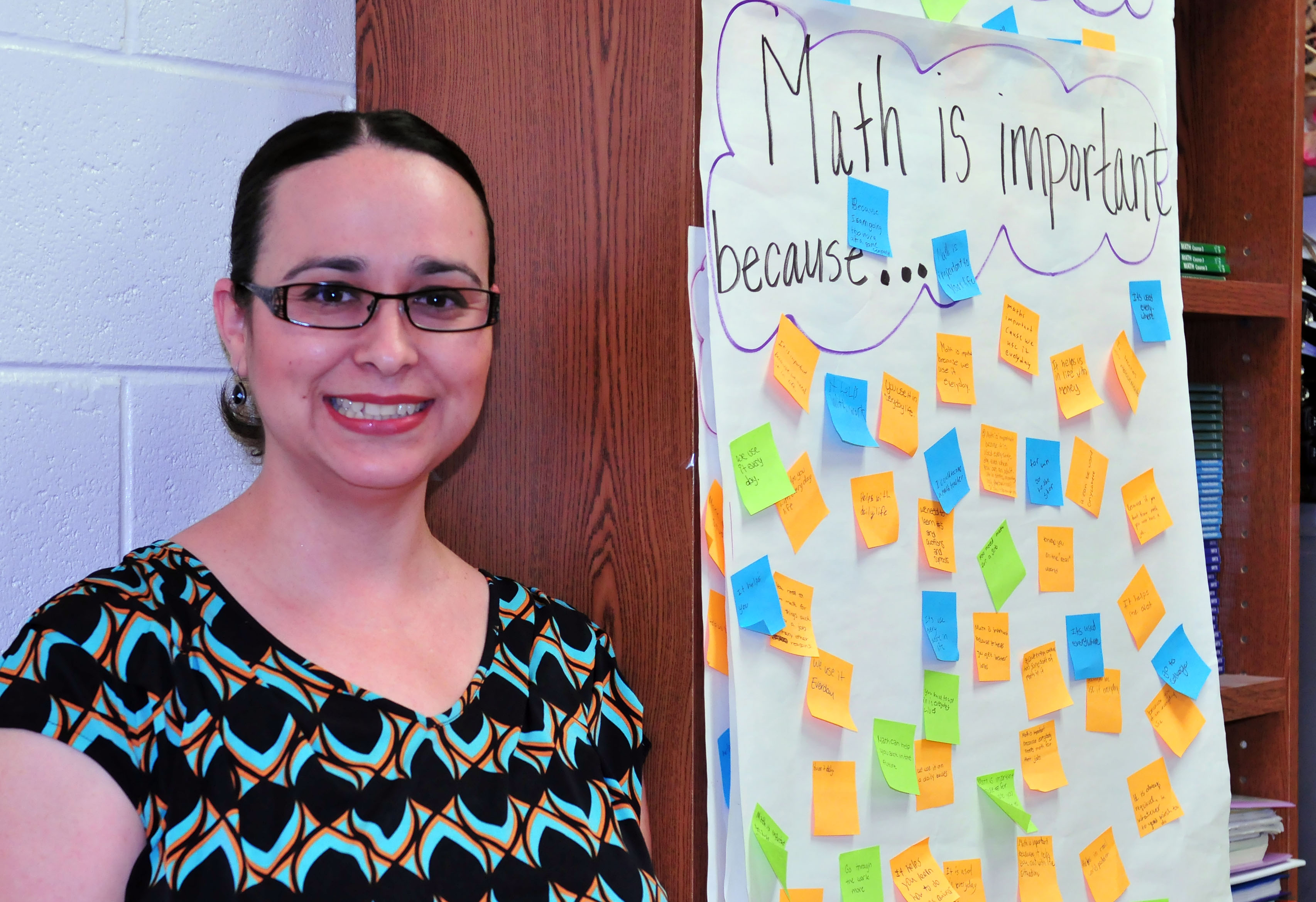 Teacher of the Week: Solis helps students find the solution