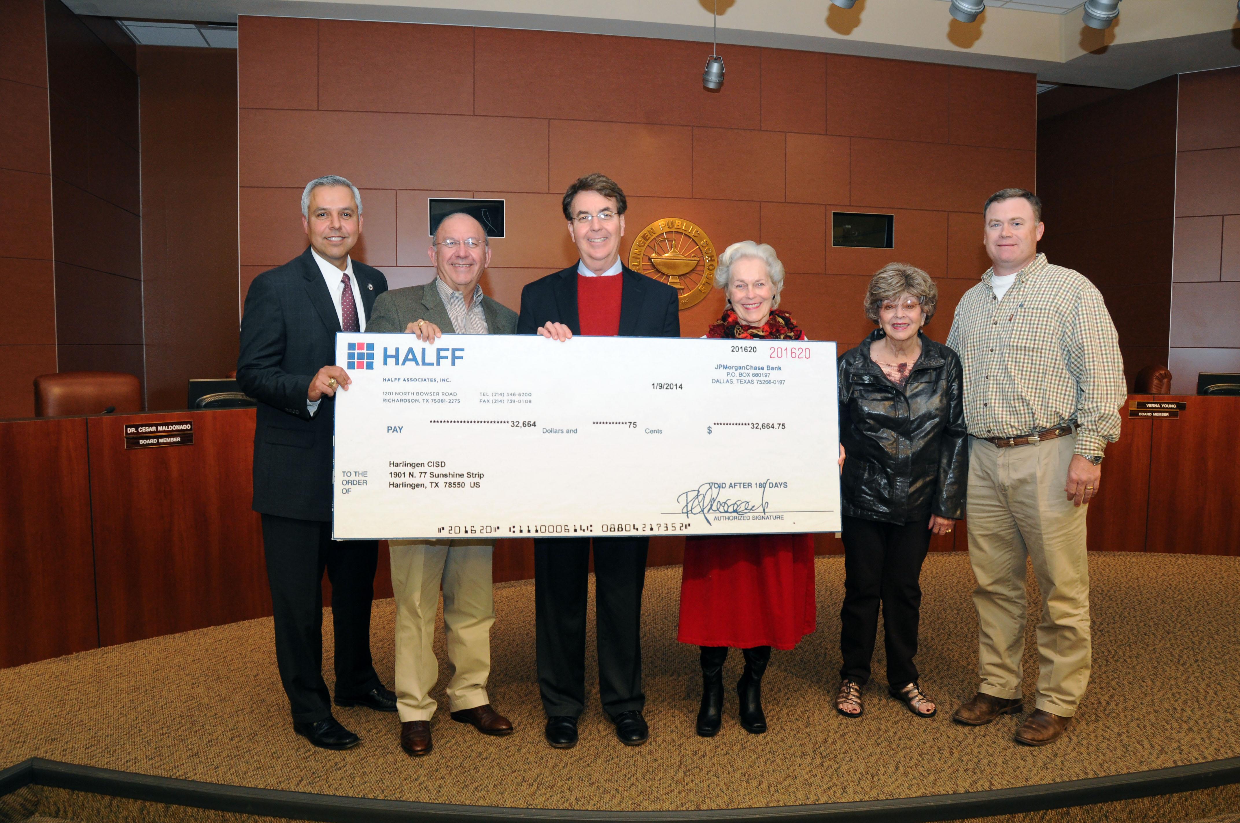 HCISD awarded $32,664.75 for efforts to decrease energy usage