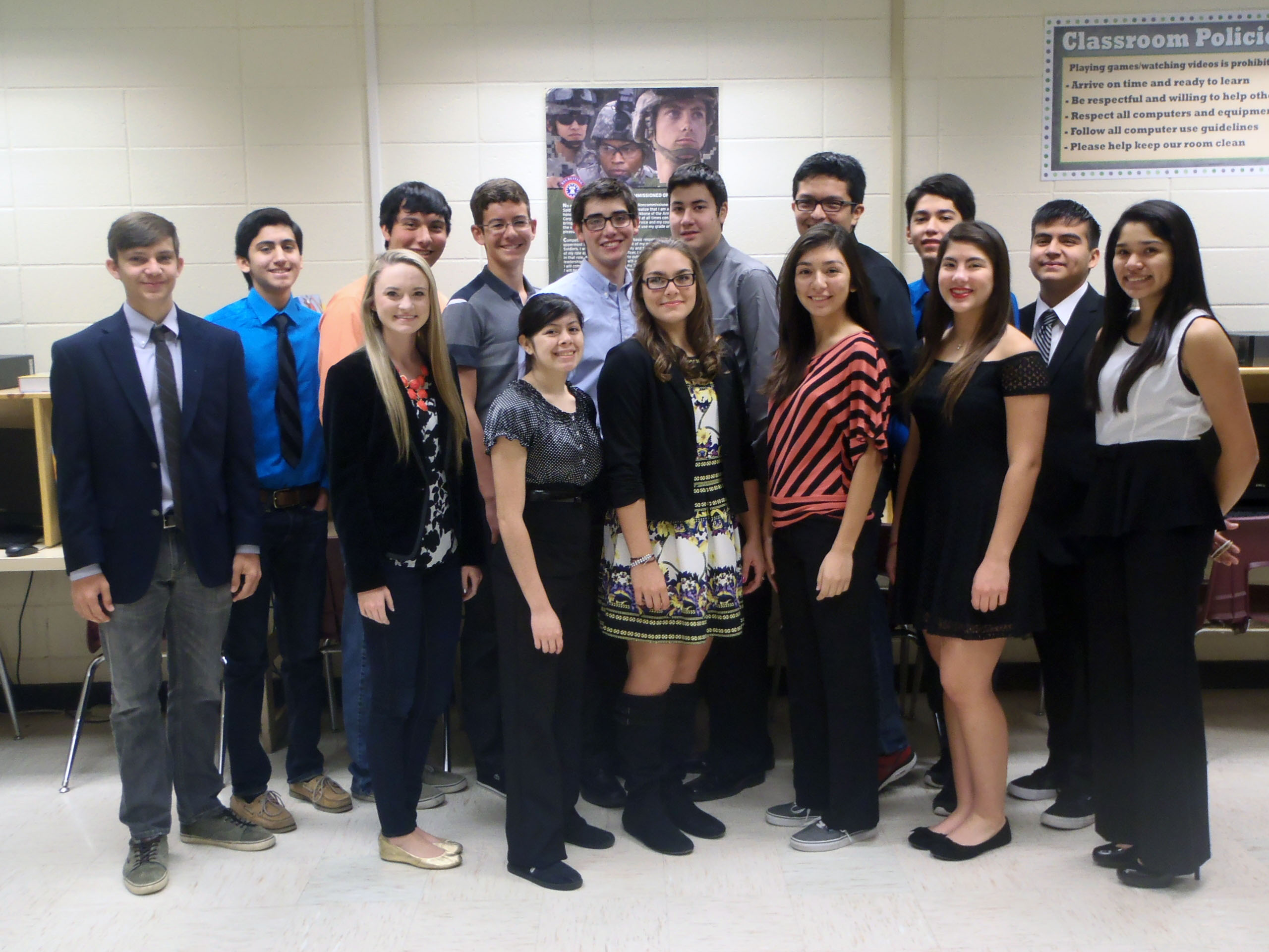 HHSS business organization sees 28 students advance to state conference