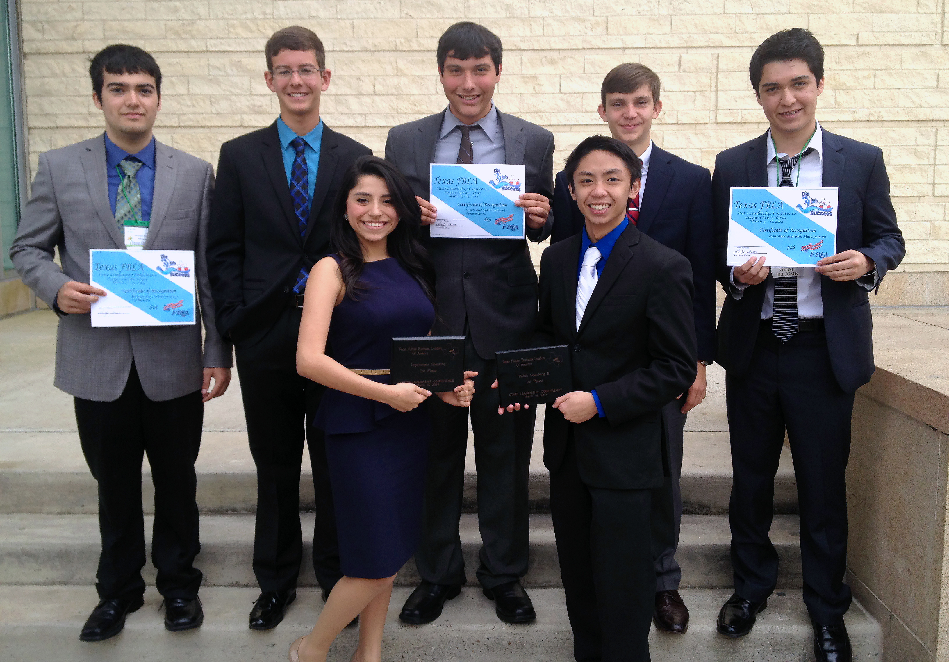 HHSS Future Business Leaders place at state competition