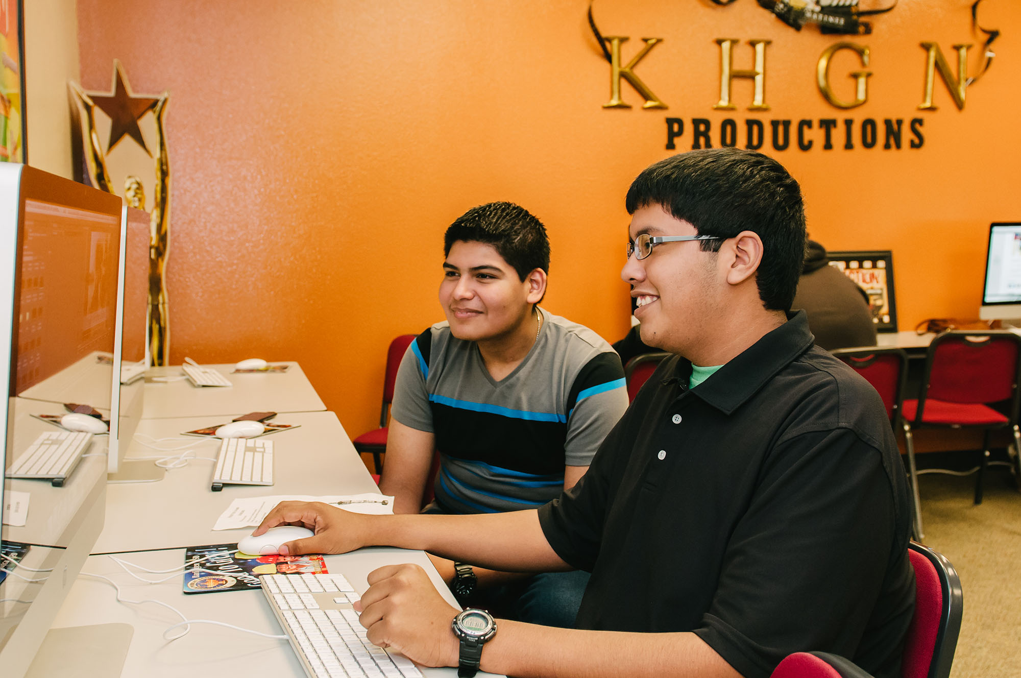 High school seniors prepare for future with real world video production training