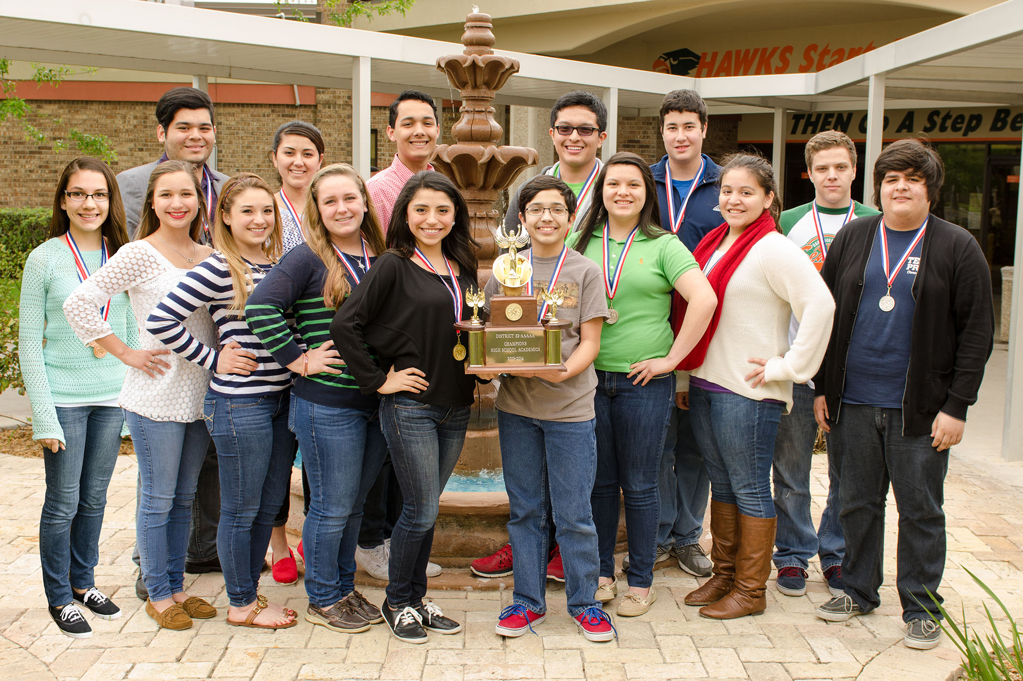 High school UIL Academic Teams make HCISD history at district meet