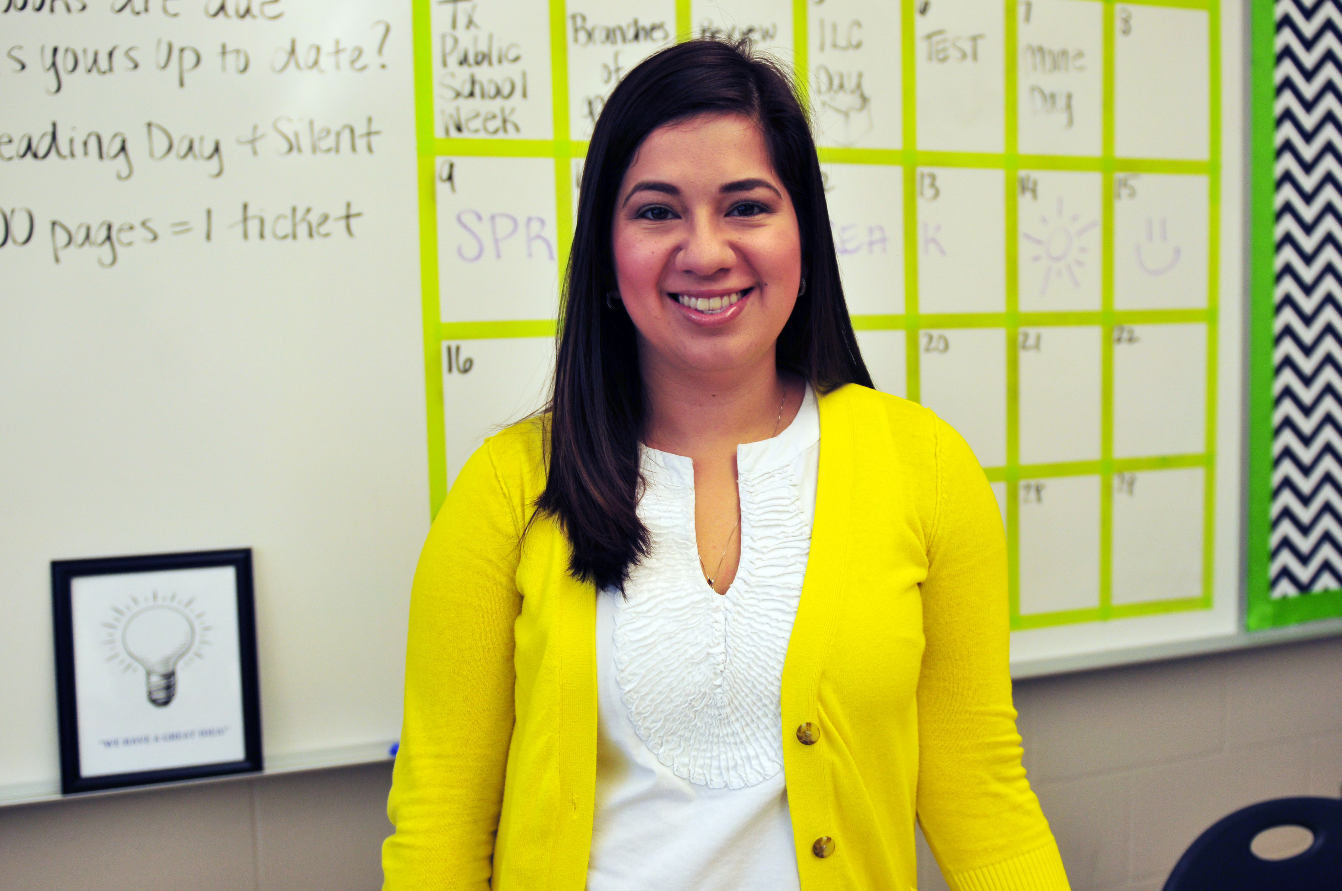 Teacher of the Week: Salinas keeps legacy of passion for teaching