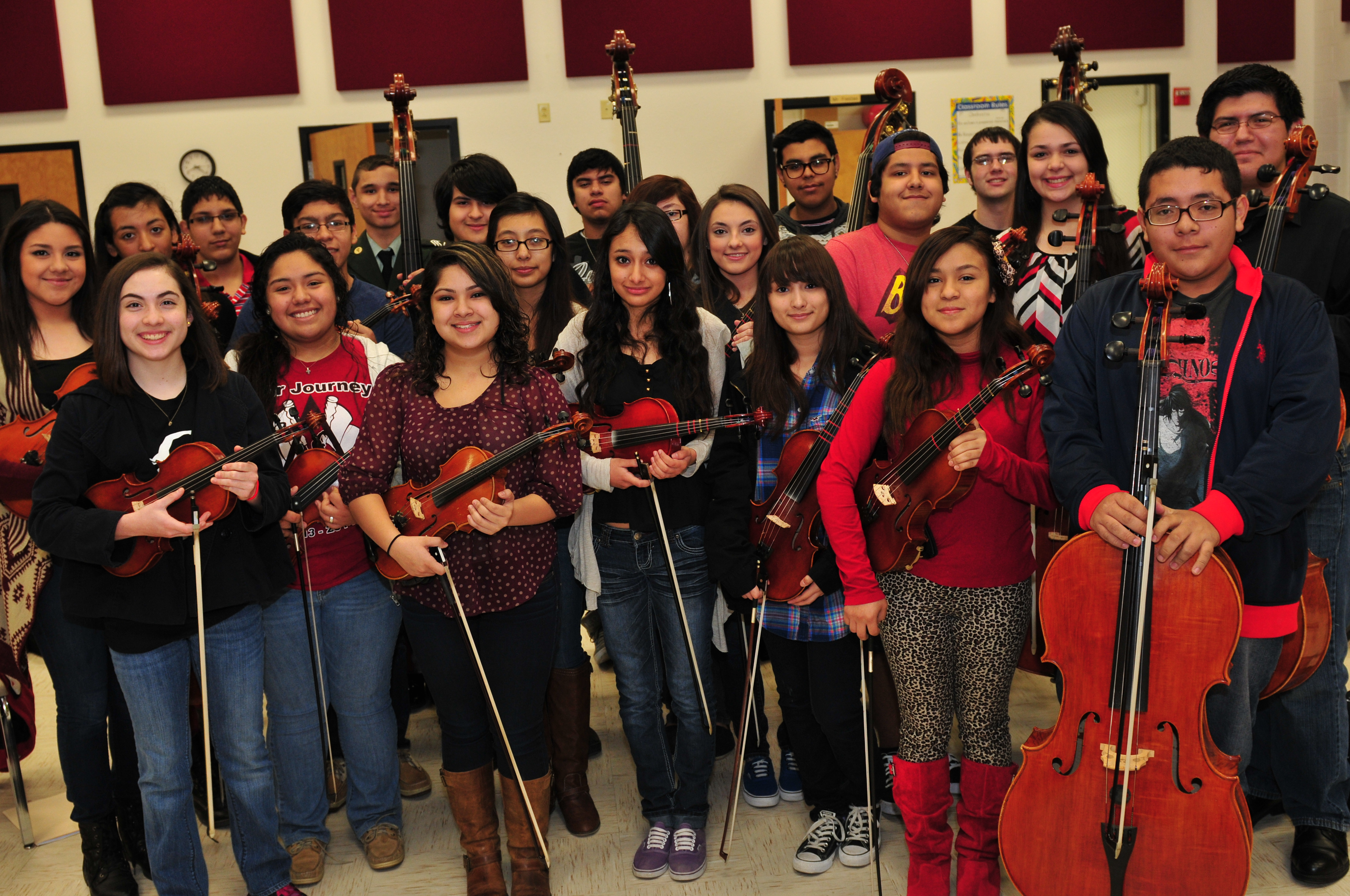 10 HCISD orchestras earn sweepstakes, HHS make history