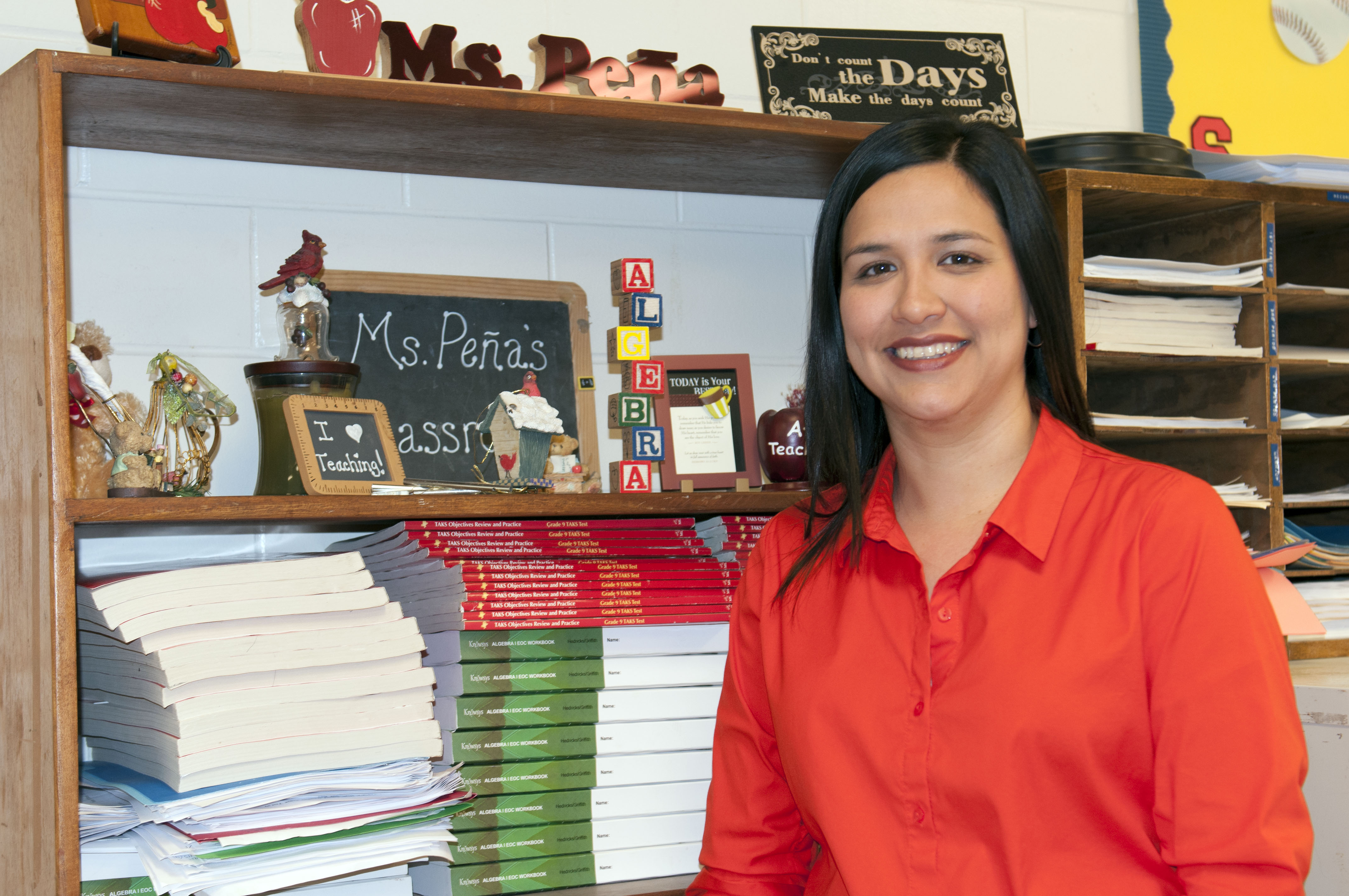 Teacher of the Week: Pena brings enthusiasm to the classroom each day