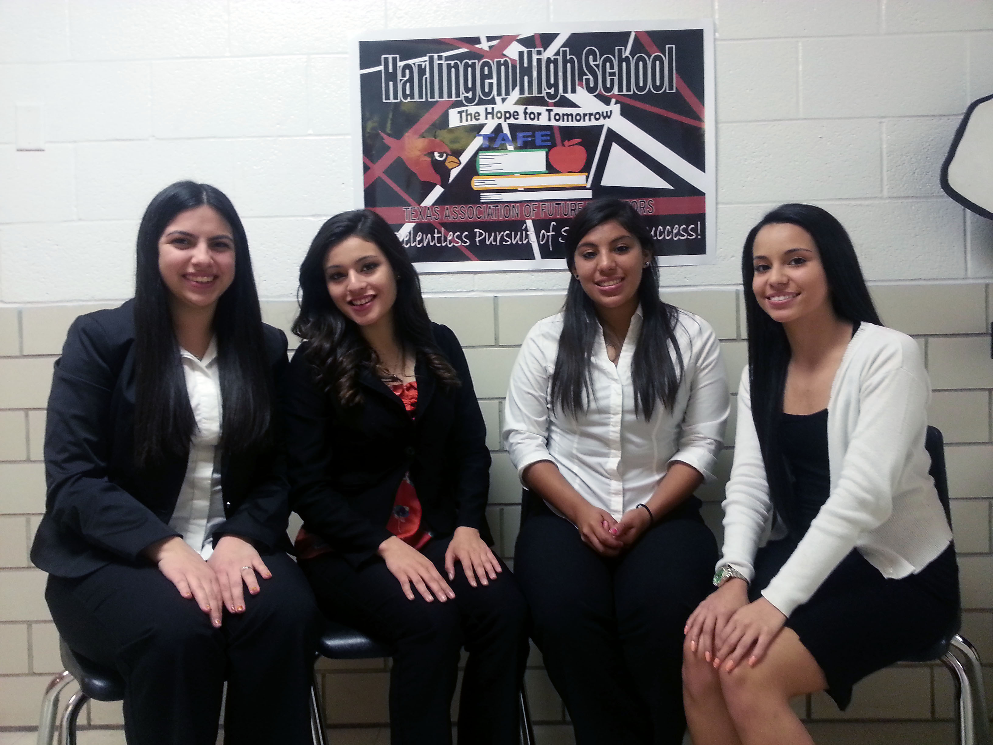 HHS students qualify for national TAFE competition