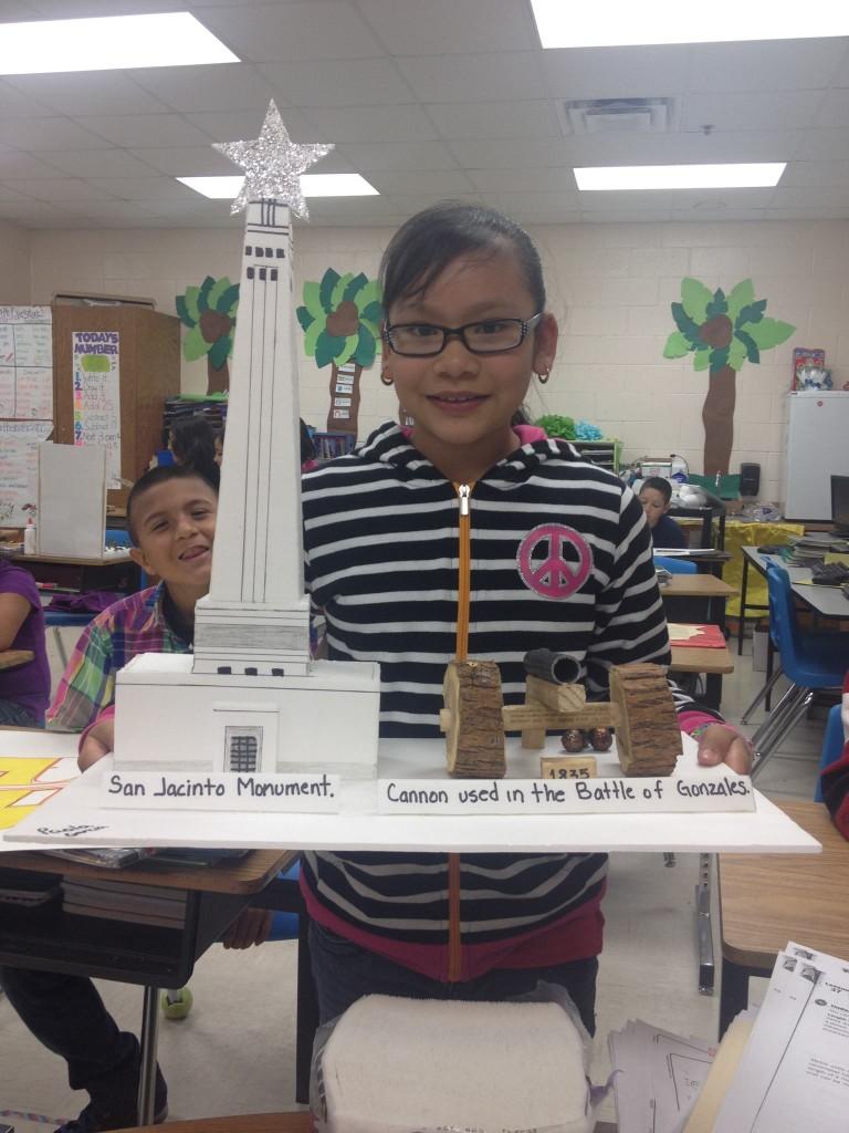 The Battle at San Jacinto-Paola Garcia, 4th Grade