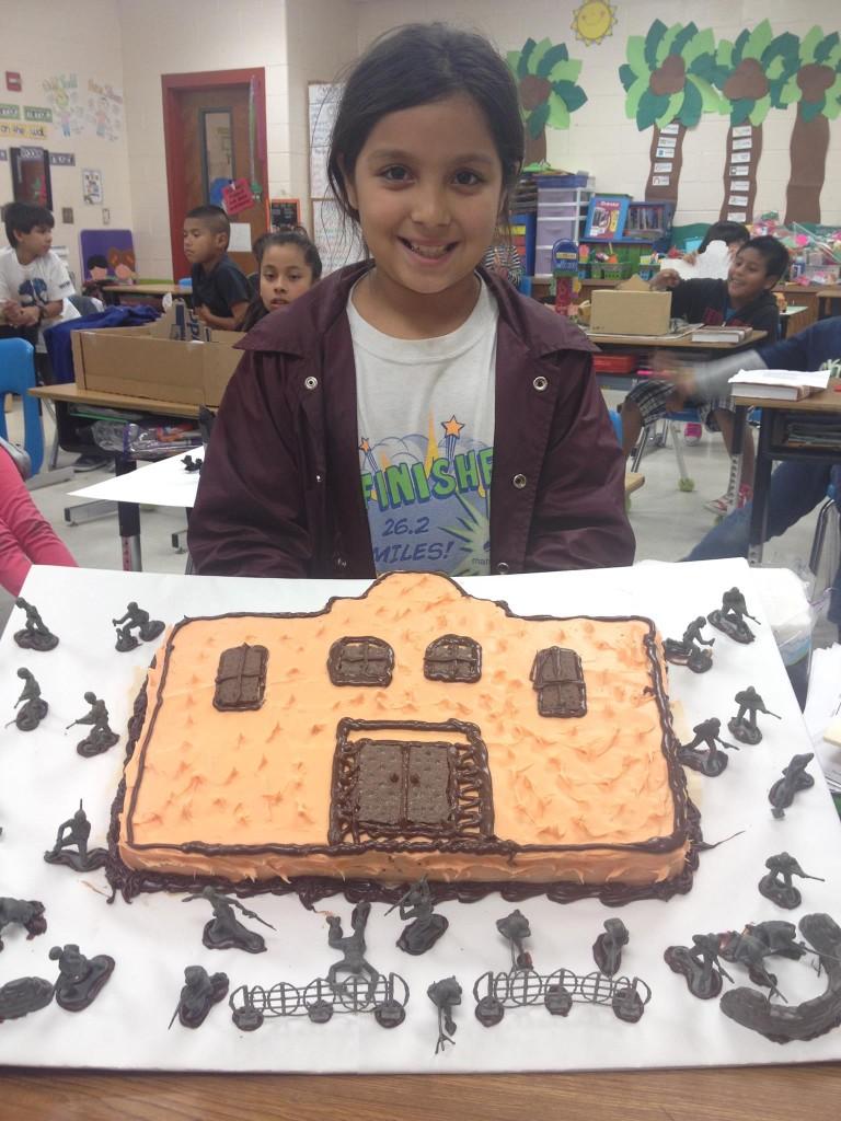 The Battle at the Alamo-Mishel Loera, 4th Grade