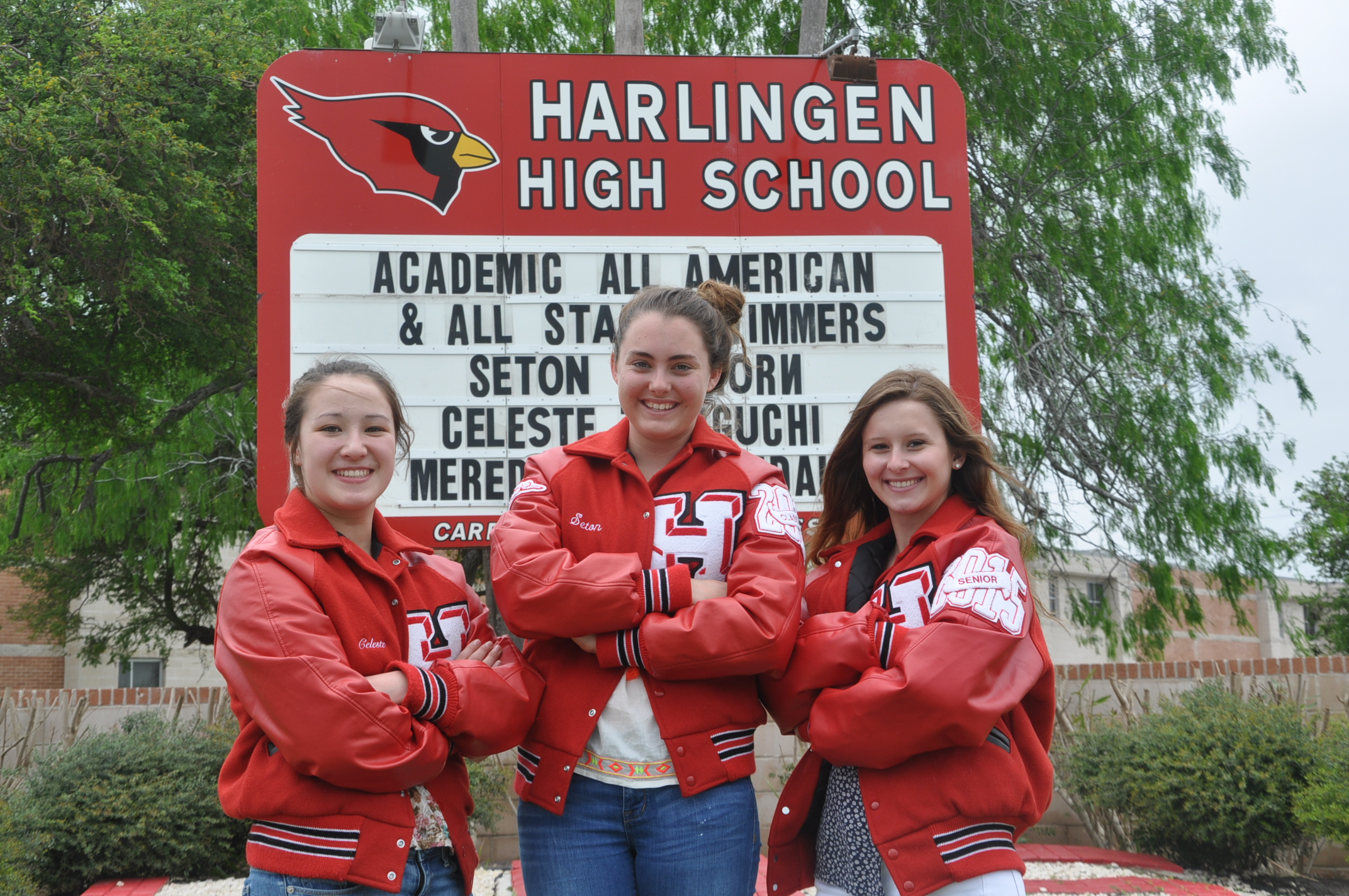 HHS swimmers named to state academic teams