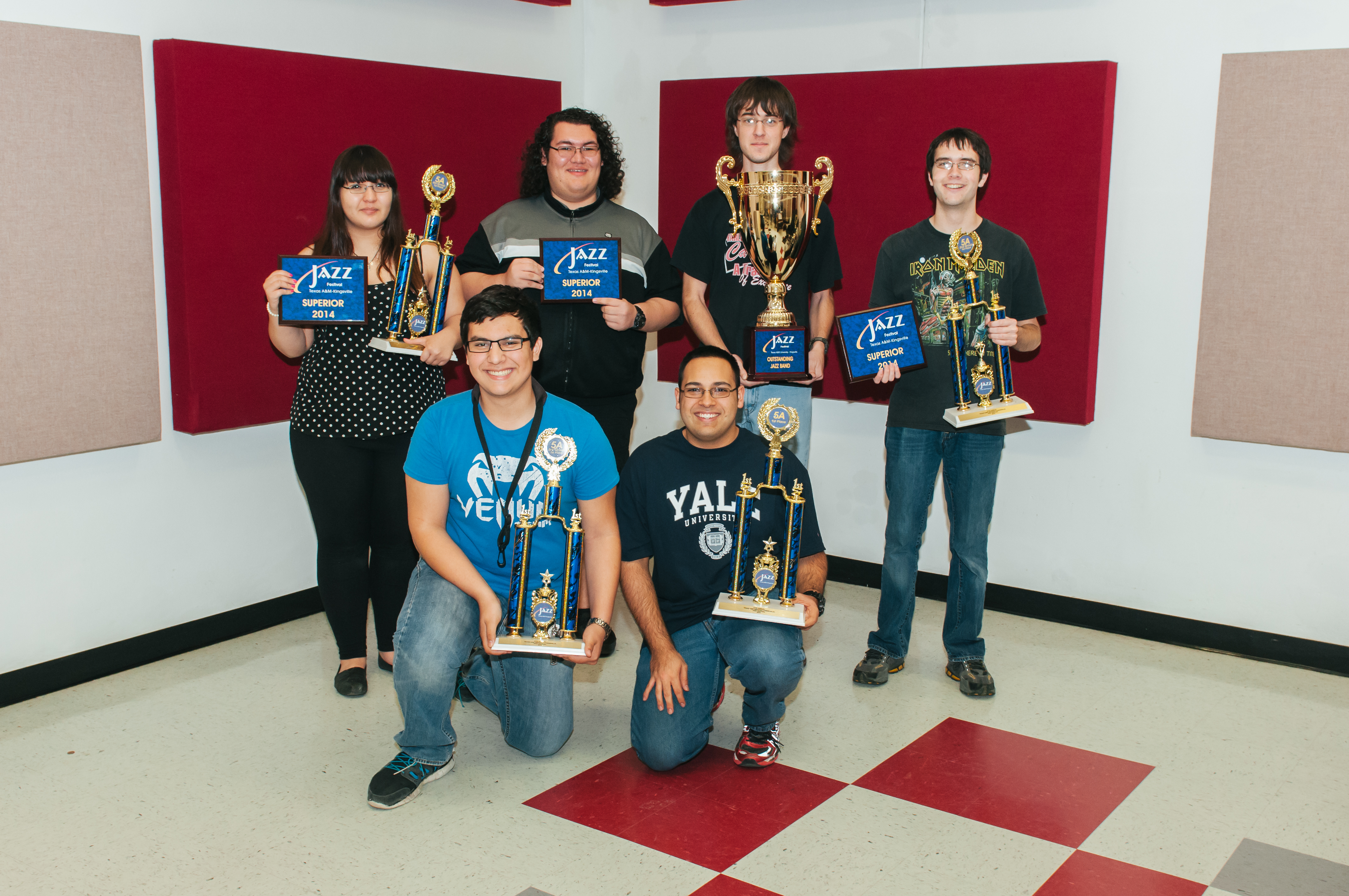 HS Jazz Ensembles stay in tune at TAMUK music festival