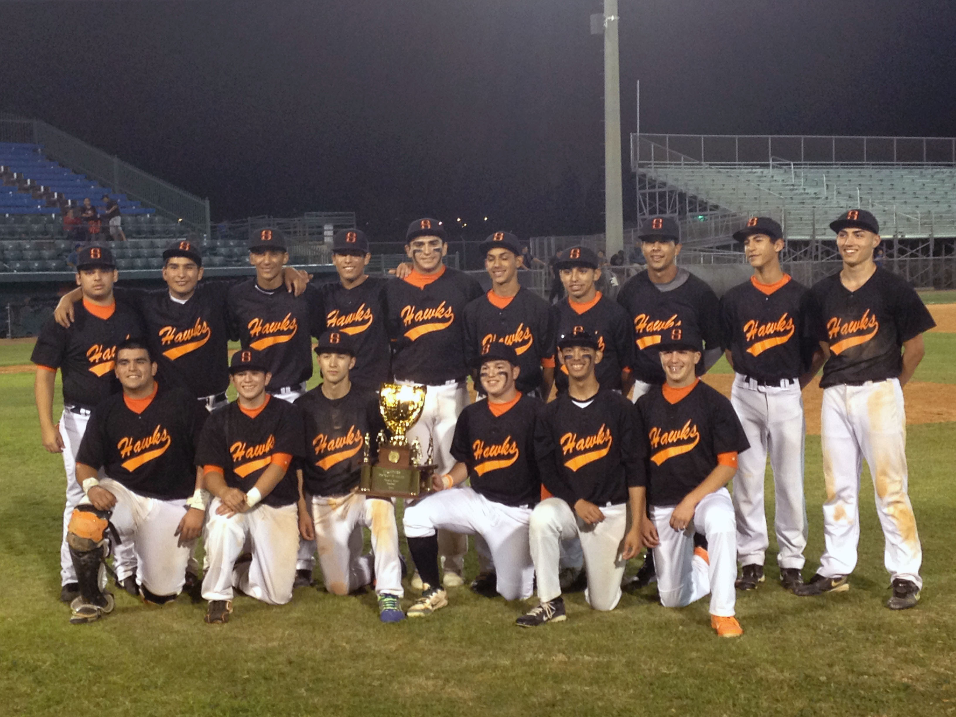 HHSS baseball clinches District 32-5A Championship