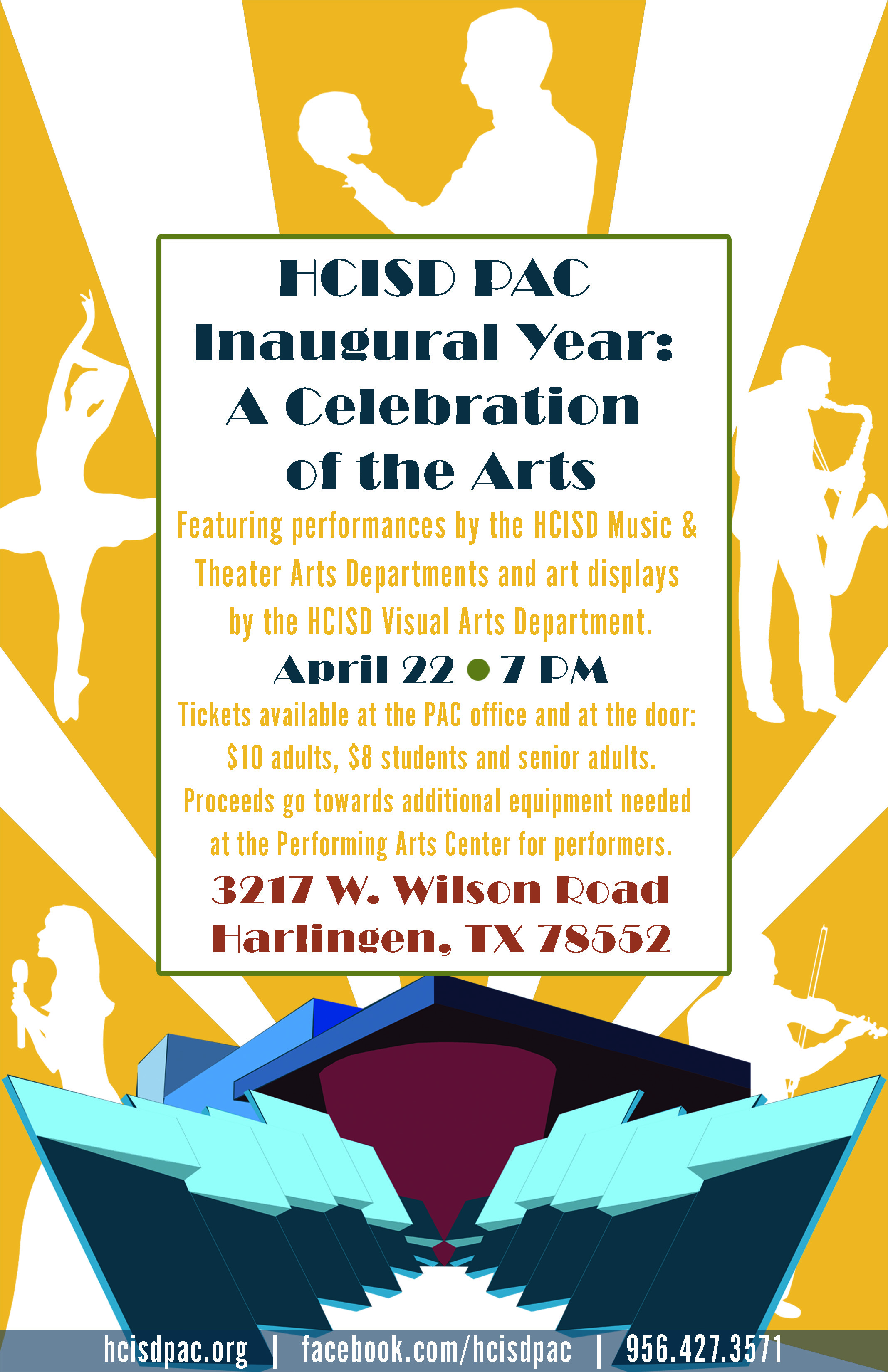 Celebrate the arts at Performing Arts Center inaugural event