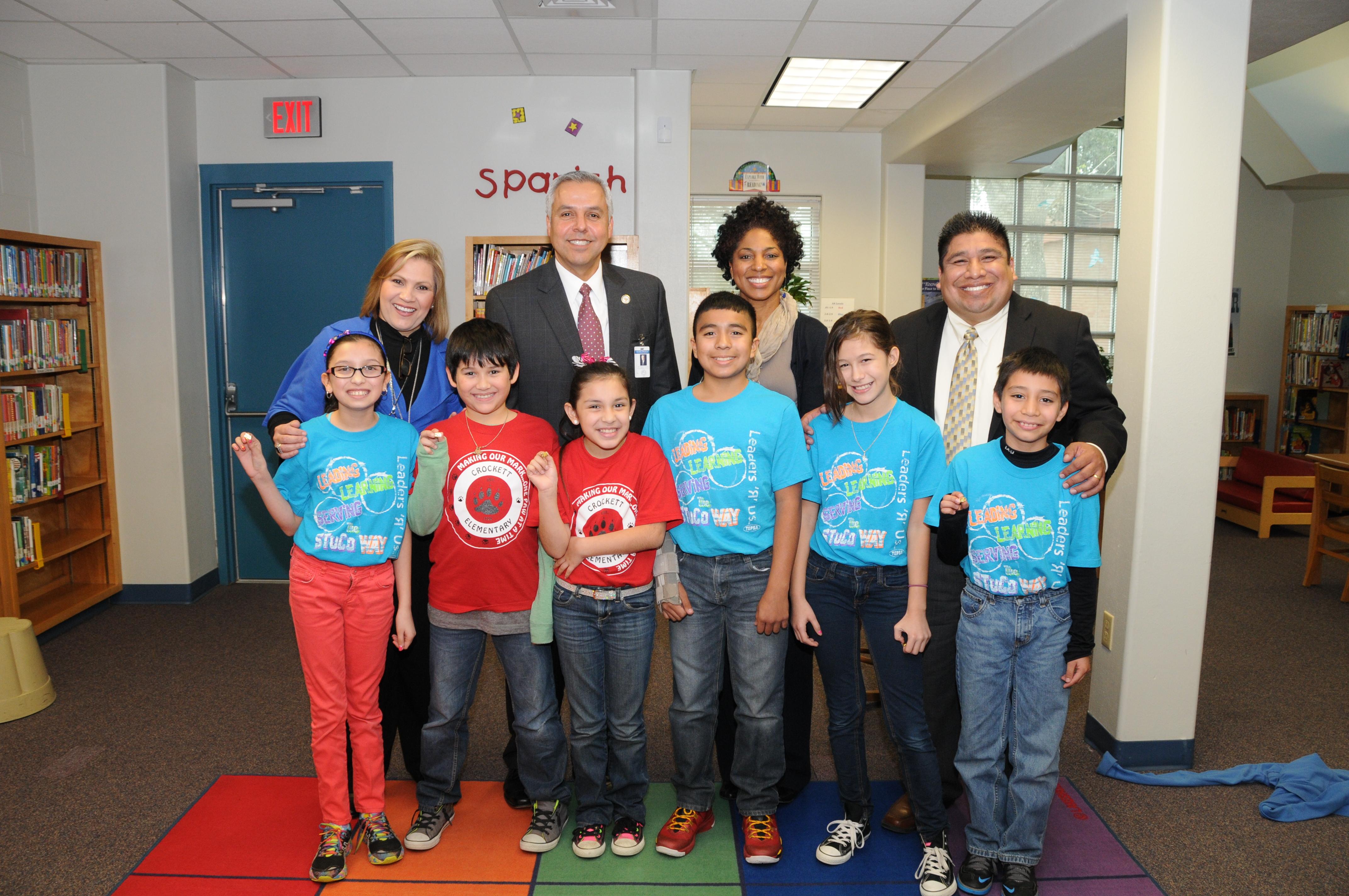 HCISD celebrates National Library Week 2014