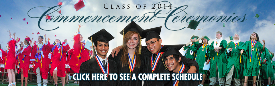 HCISD celebrates the Class of 2014 during commencement ceremonies