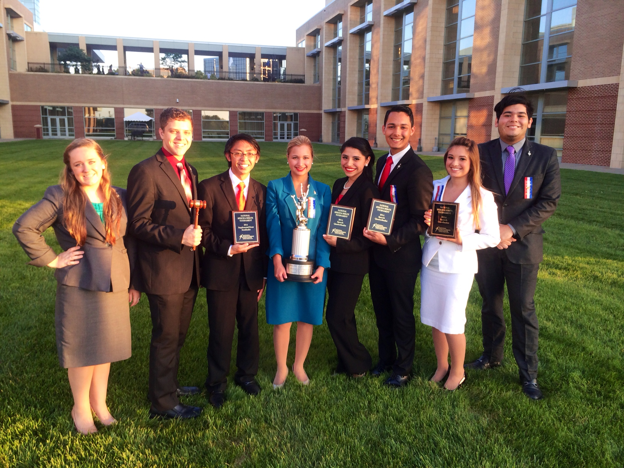 HHSS Speech, Drama, and Debate Make the Grade at Nationals