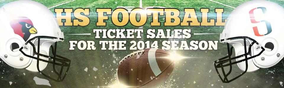2014 HCISD Football Ticket Sales Schedule