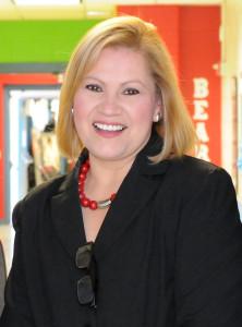 Mindy Sanchez, Principal Lee Means Elementary
