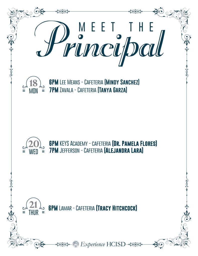 HCISD-MeetThePrincipal