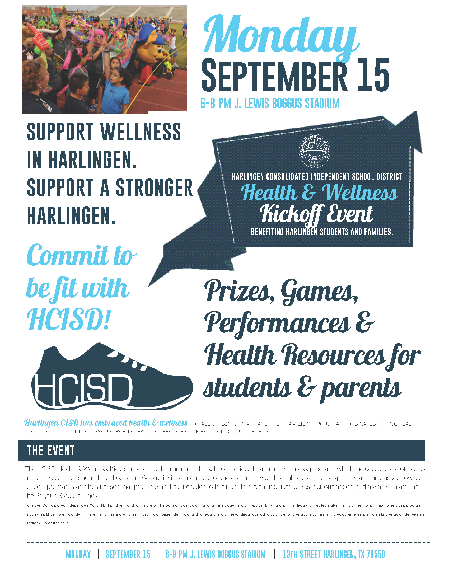 Commit to get fit with HCISD: Community invited to annual Wellness Kickoff