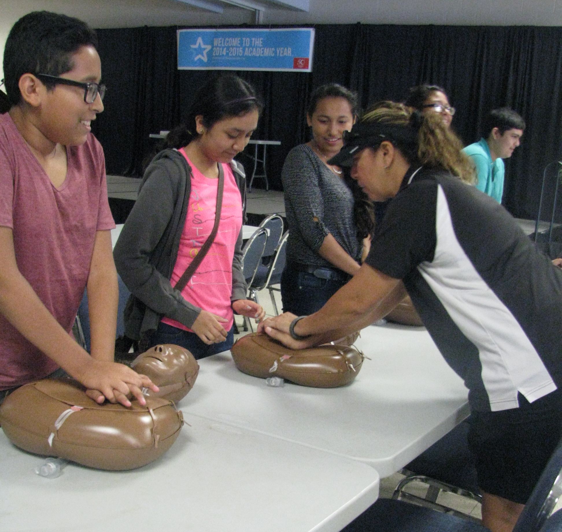 ECHS students now a life-saving force