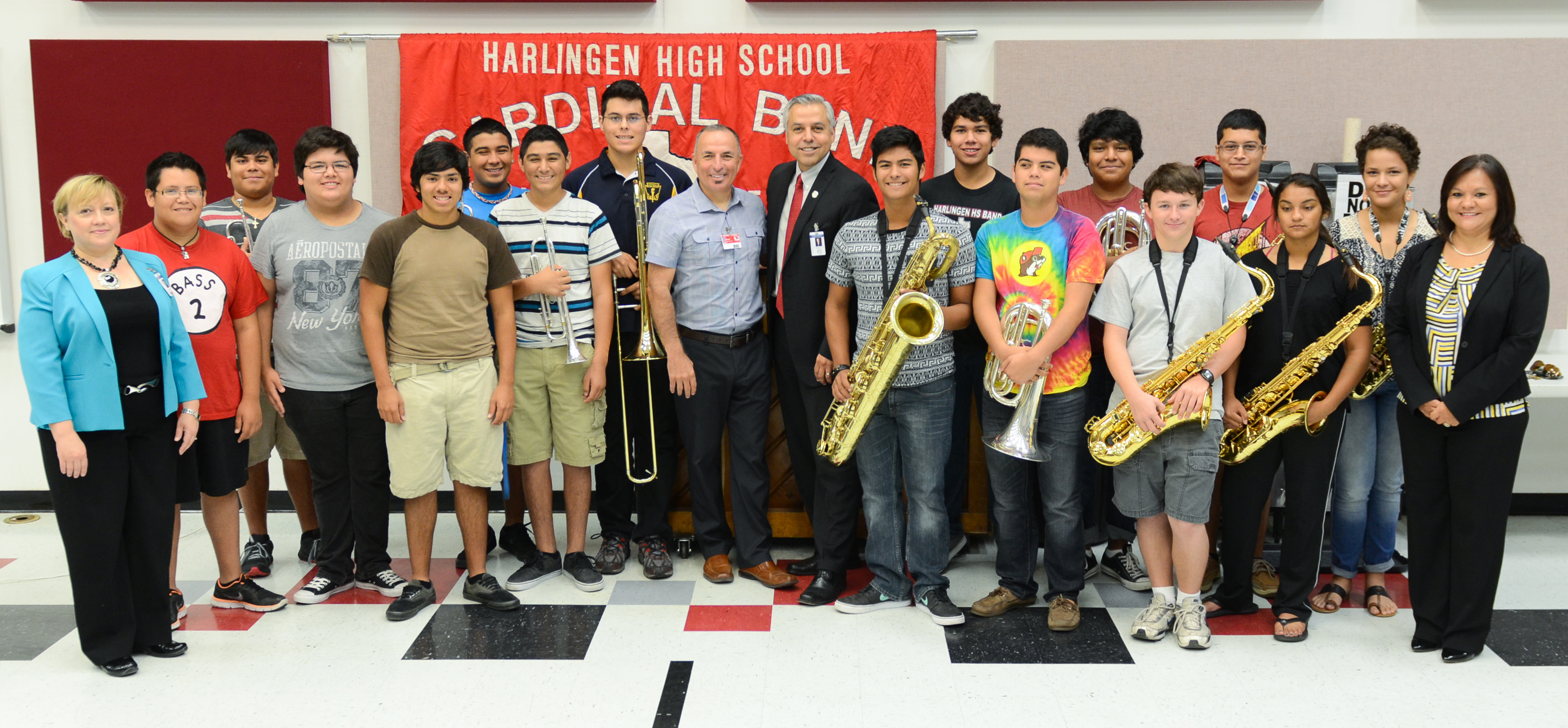 HHS Jazz Ensemble receives national recognition with the Mark of Excellence award