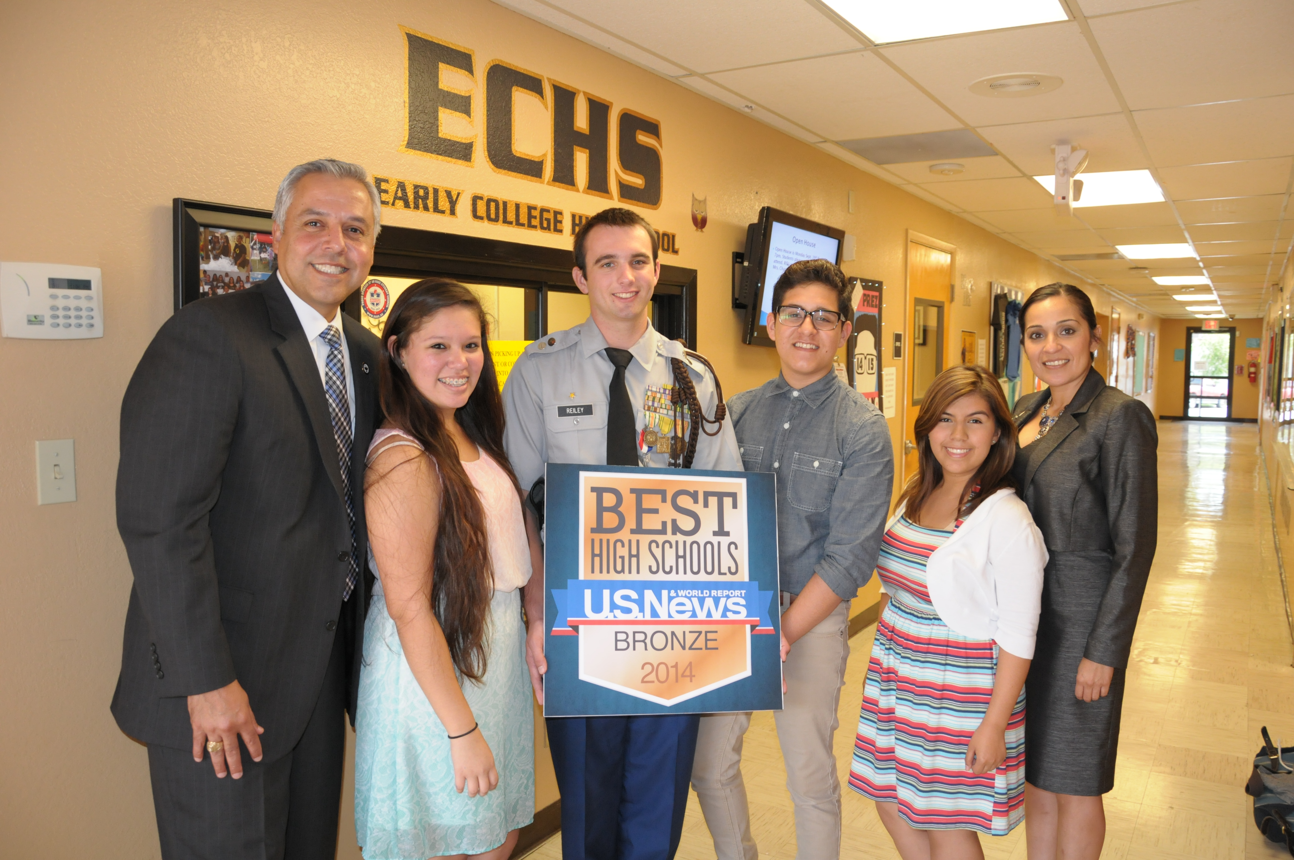 U.S. News names ECHS as one of America's Top High Schools for 2014