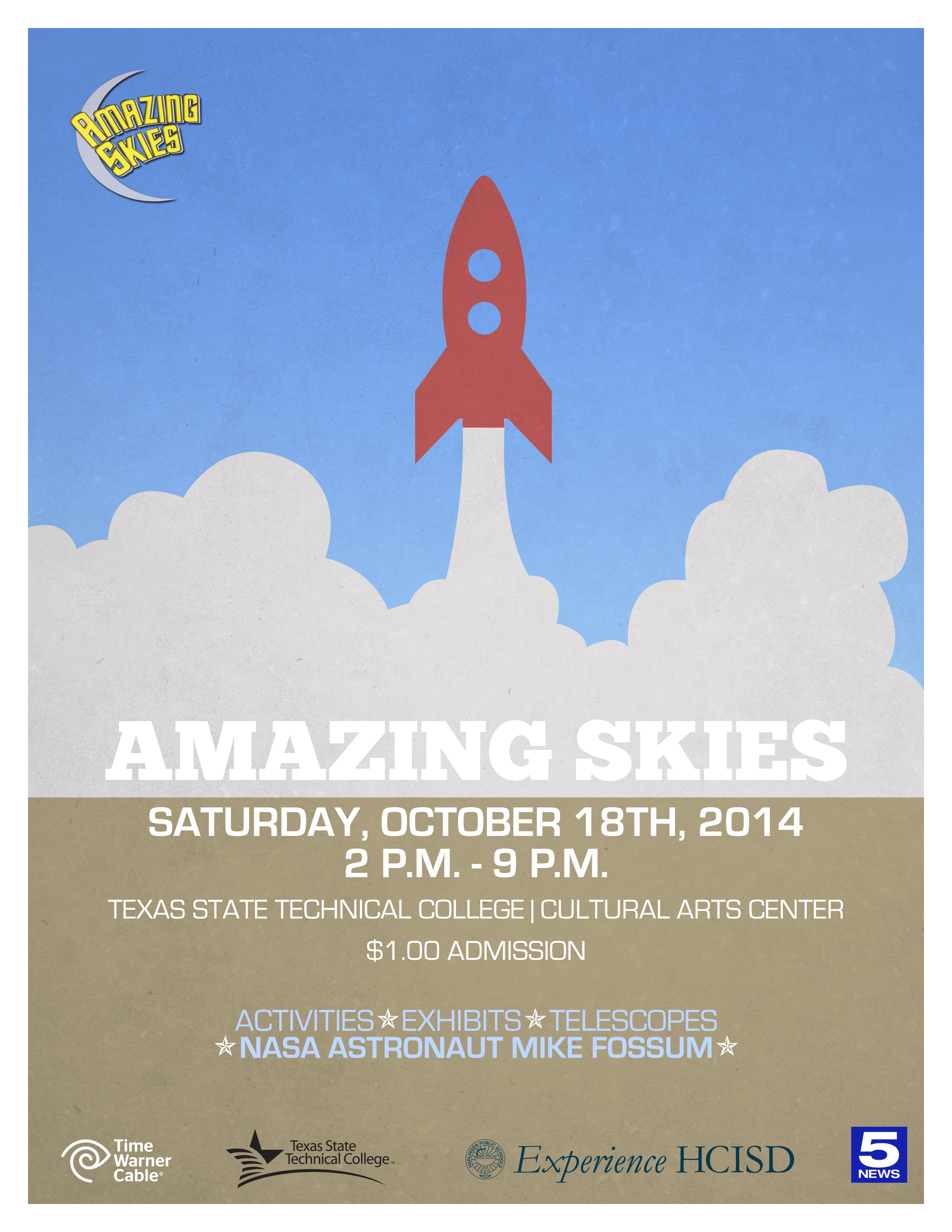 Community invited to attend Amazing Skies
