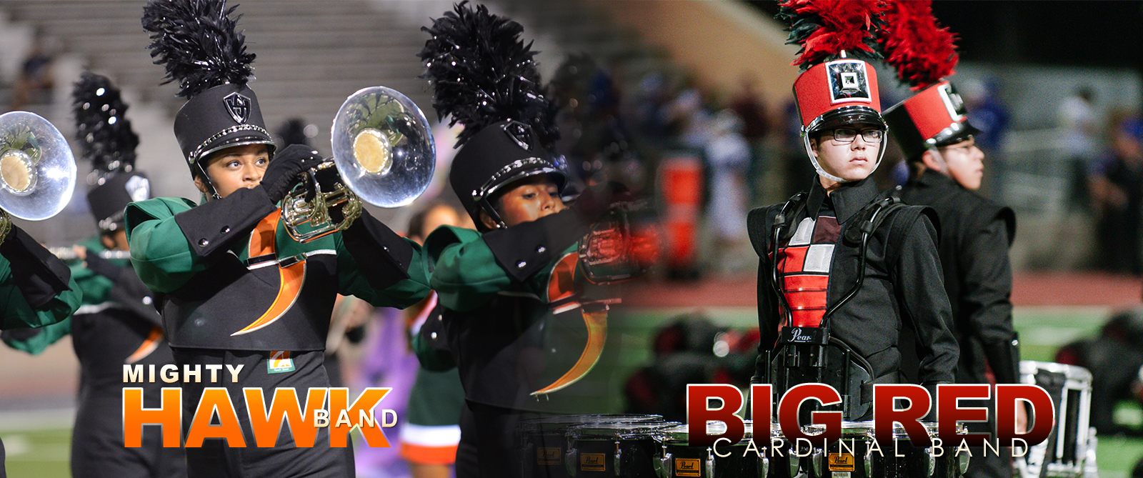 Leaving it all on the field: HCISD marching bands prepare for Band-tober