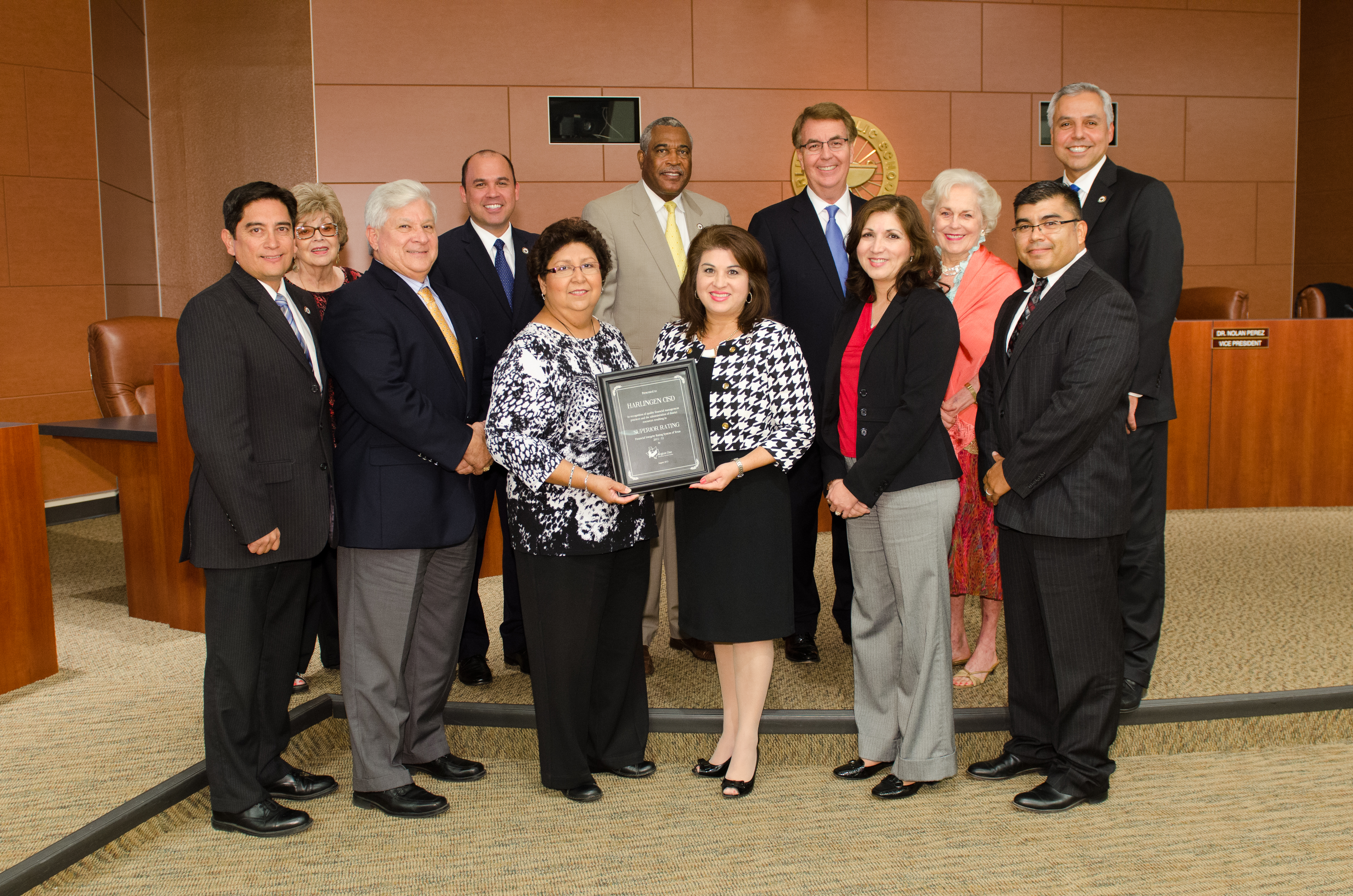 HCISD achieves a superior rating in financial accountability