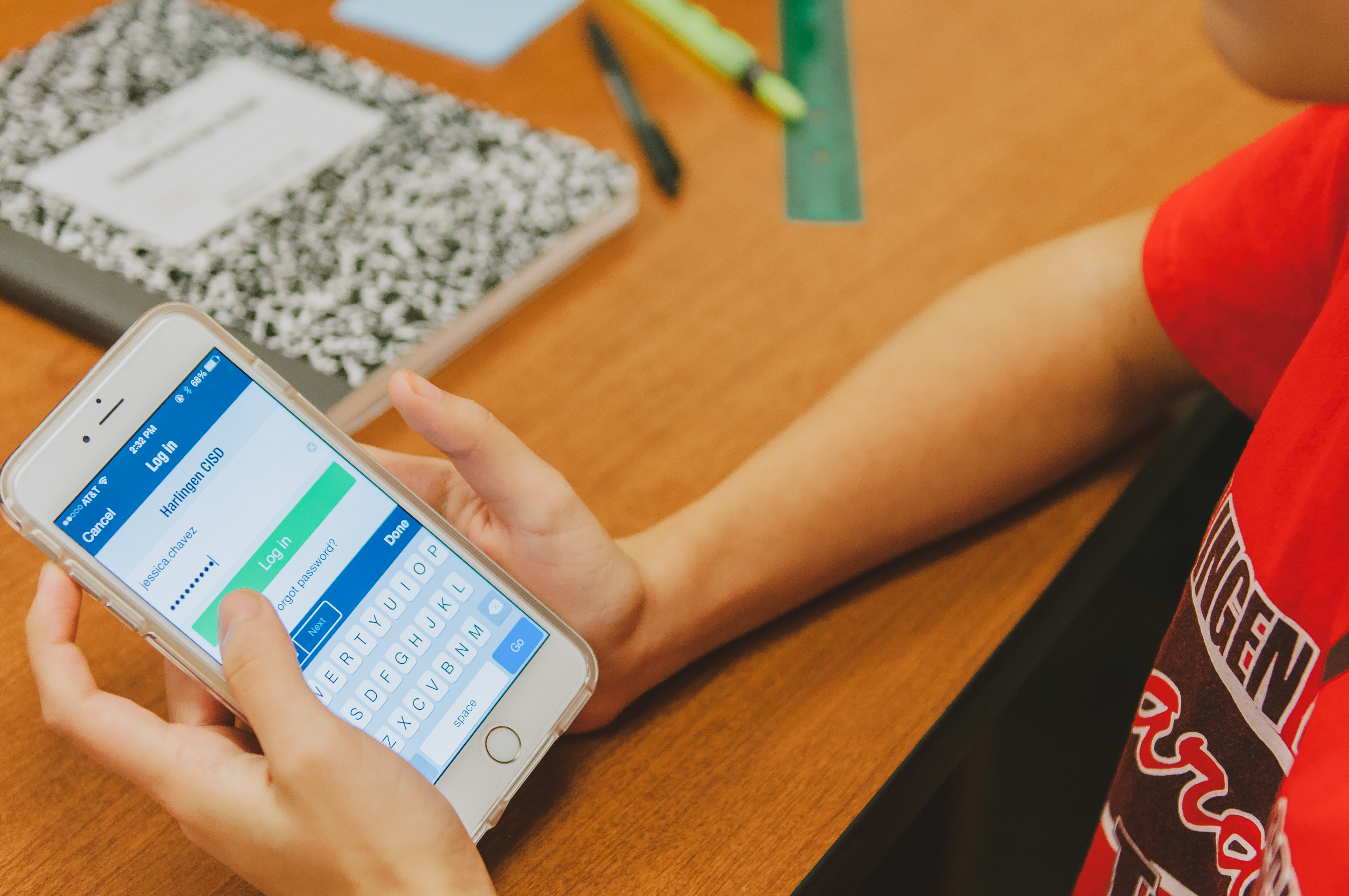 Students and parents can now access grades on mobile app