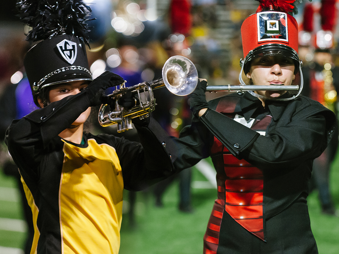 HS Marching Bands earn superior ratings, qualify for area contest at 2014 Pigskin Jubilee