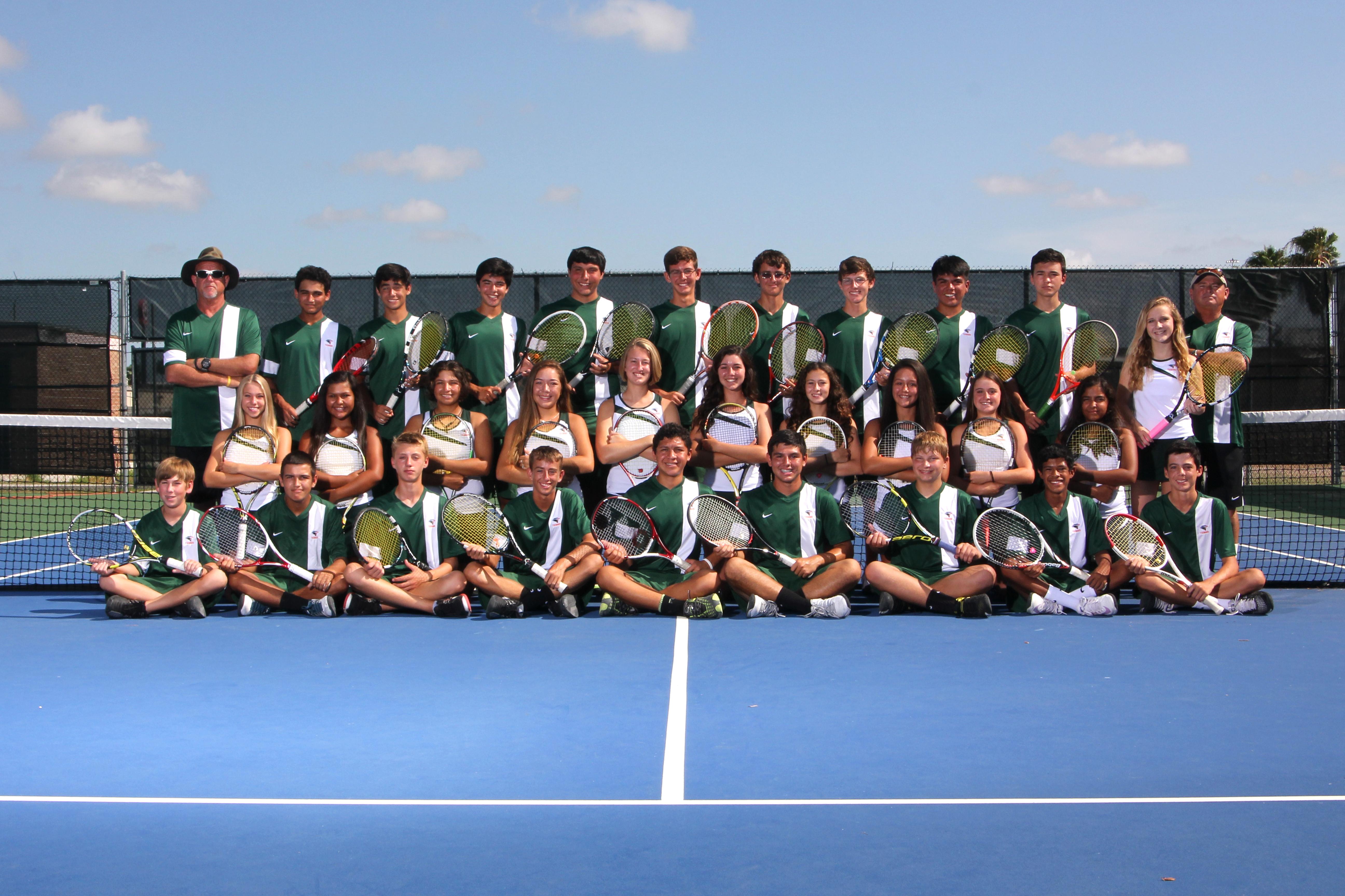 Hawk Tennis Team wins 20th district championship