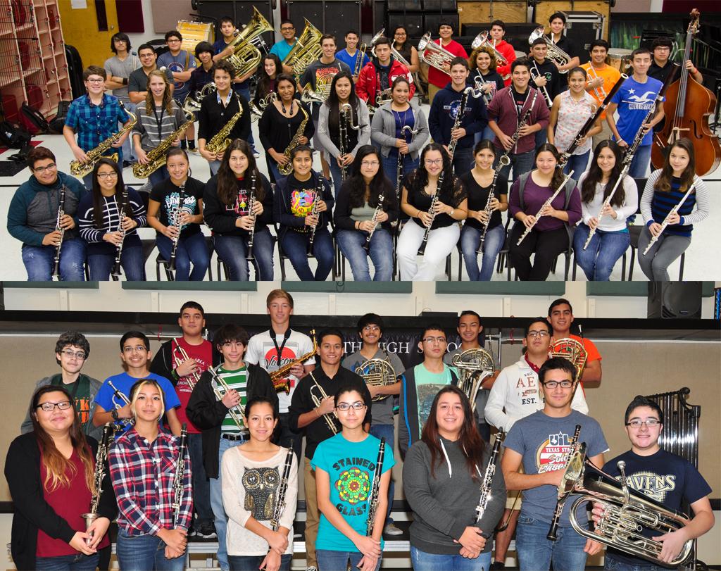 HS band members earn spots in Region 28 ensembles