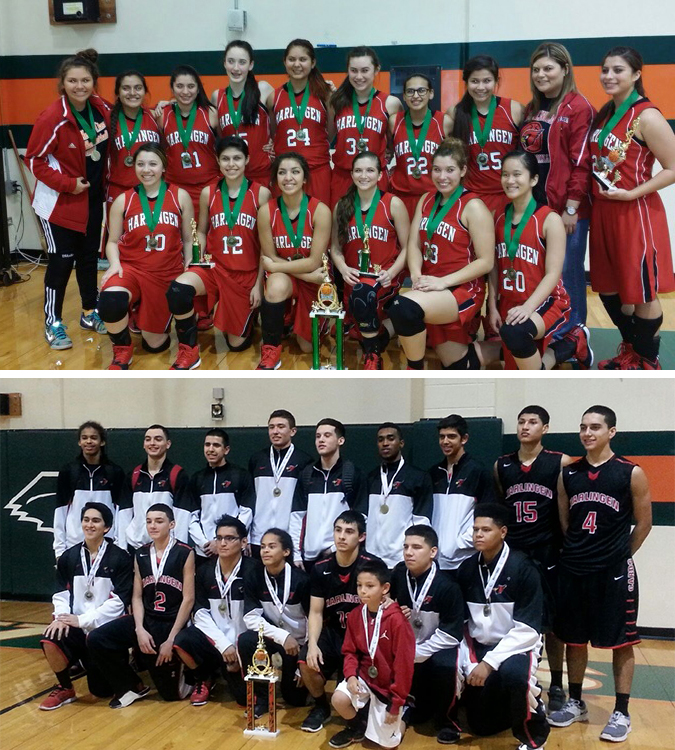 Cardinal Boys and Girls Basketball Teams bring home championship titles