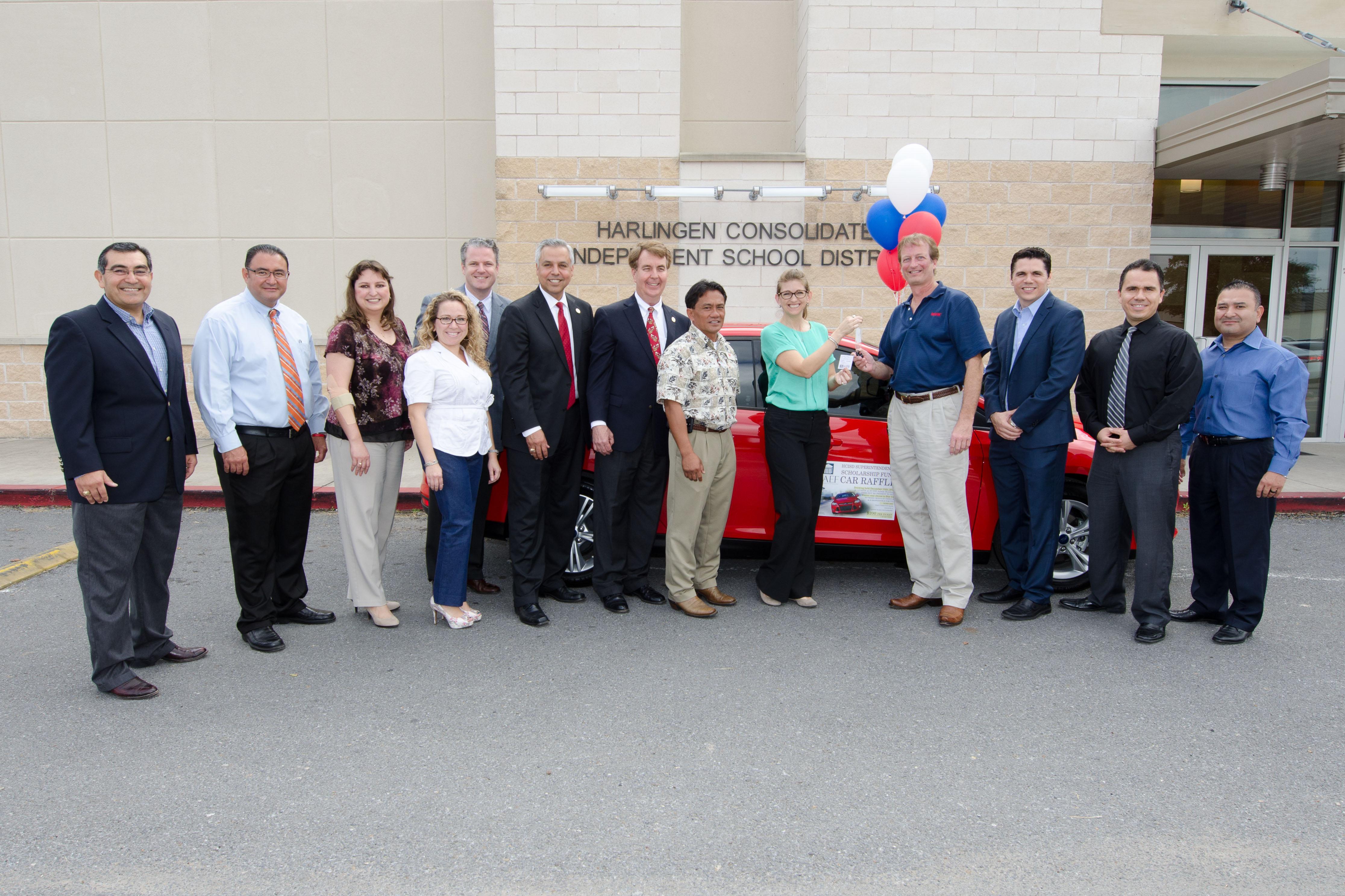 HAEF announces winner of car raffle to benefit education programs
