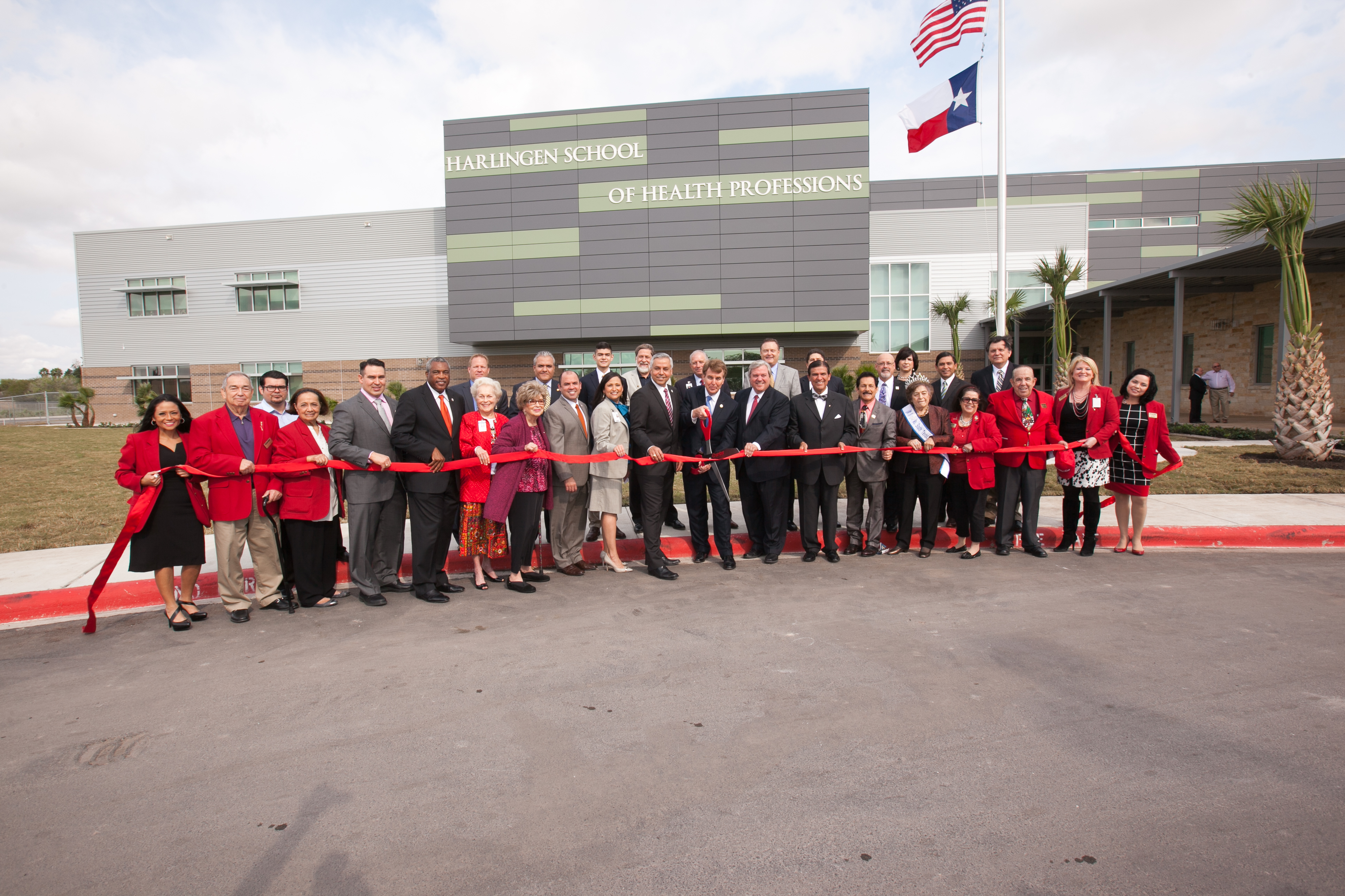 Continuing to make history: HCISD marks beginnings of medical careers with HSHP Ribbon Cutting
