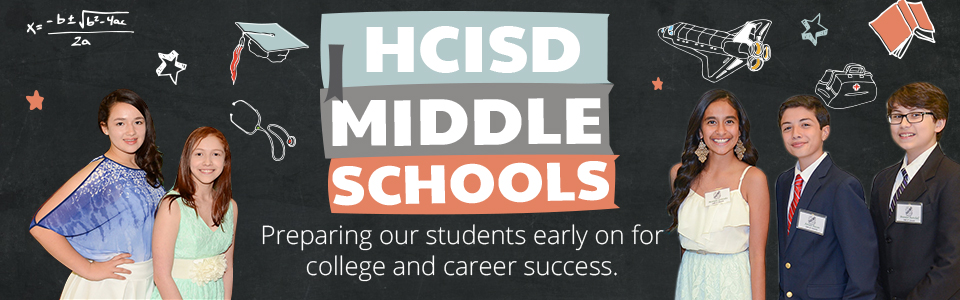 HCISD middle schools highlighted during February