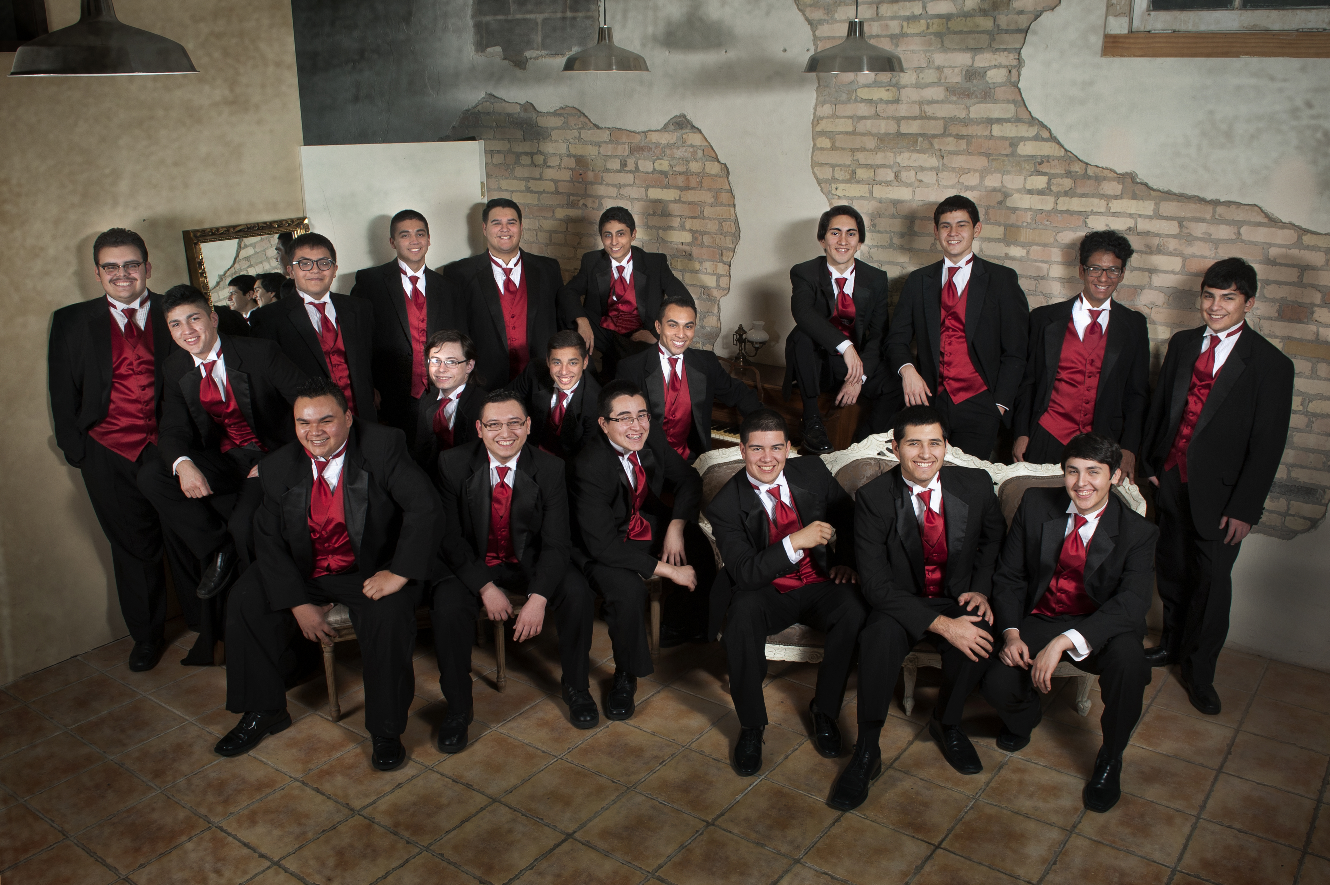 HHS Varsity Men's Choir selected to perform before thousands at TMEA