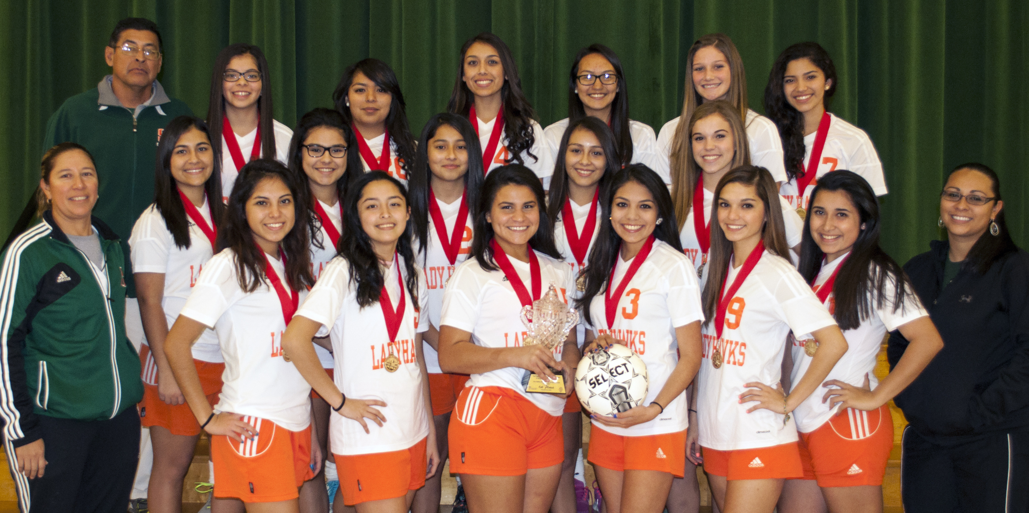 Lady Hawk Soccer earns second championship at Border Olympics Tournament