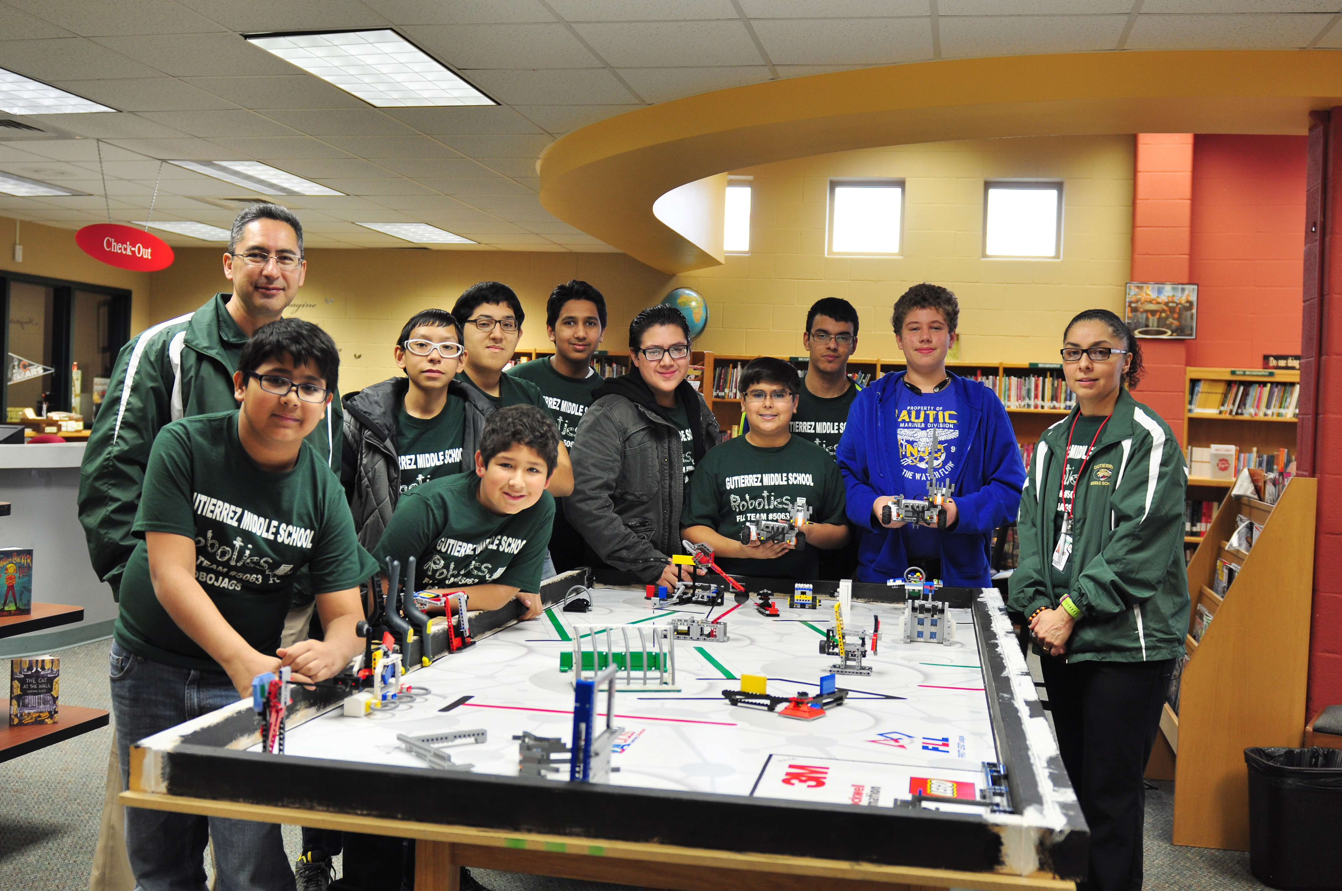 Gutierrez MS RoboJags: First-year team headed to FLL Regional Competition