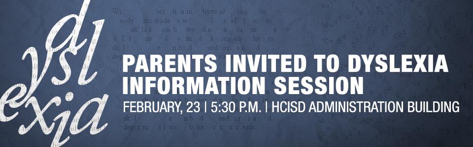 Dyslexia-Info-Session