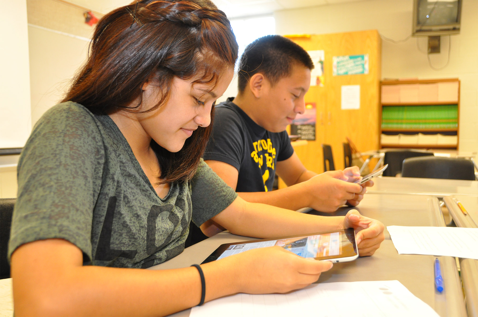 College atmosphere fosters college and career ready students at Vela MS