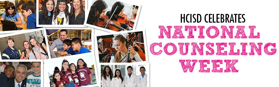 HCISD celebrates National Counseling Week 2015