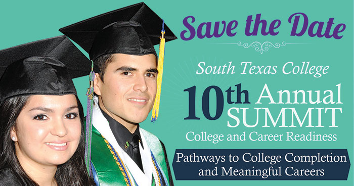 Students invited to 10th annual South Texas College Summit: College and Career Readiness