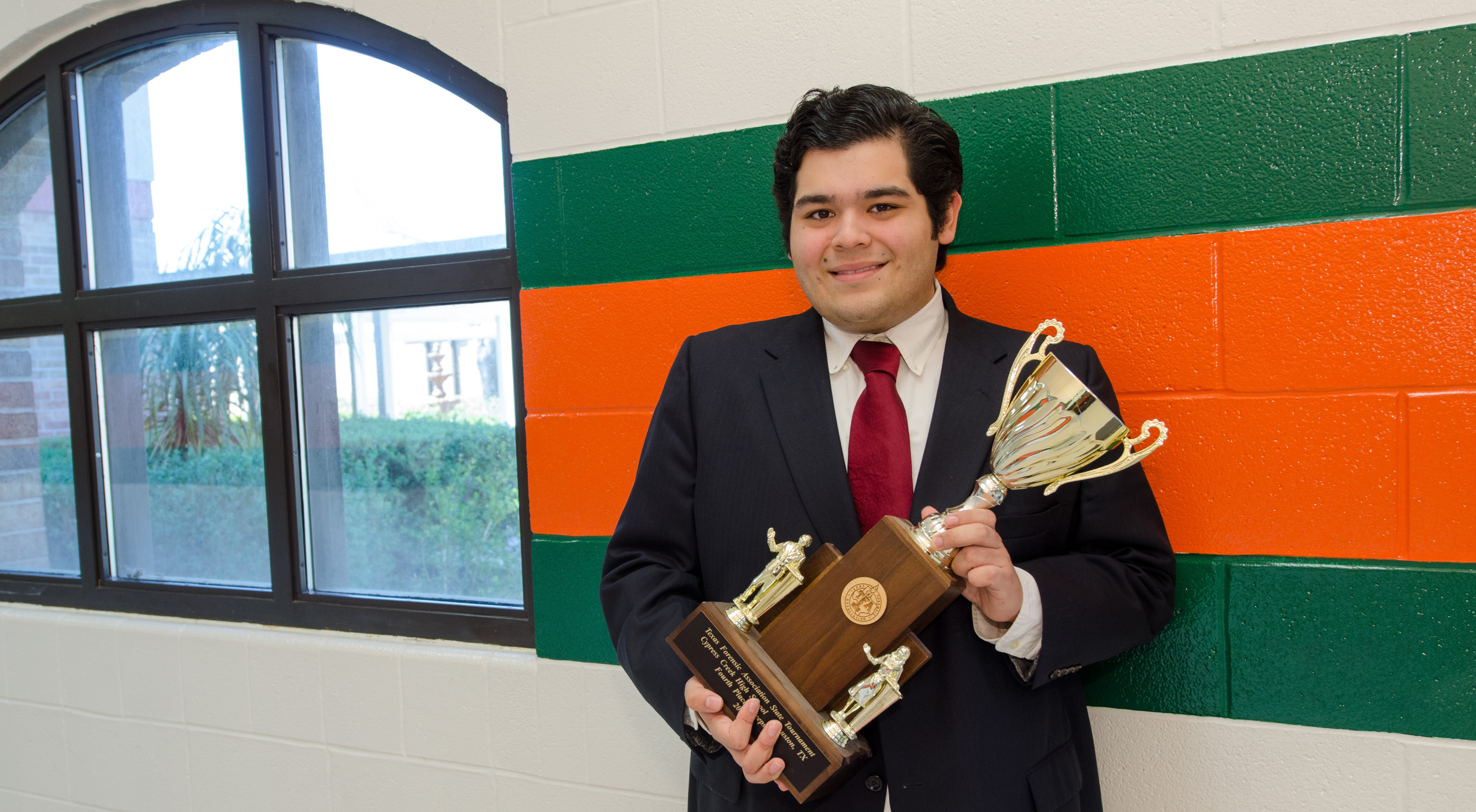 South student takes the TFA State Championship in Poetry Interpretation