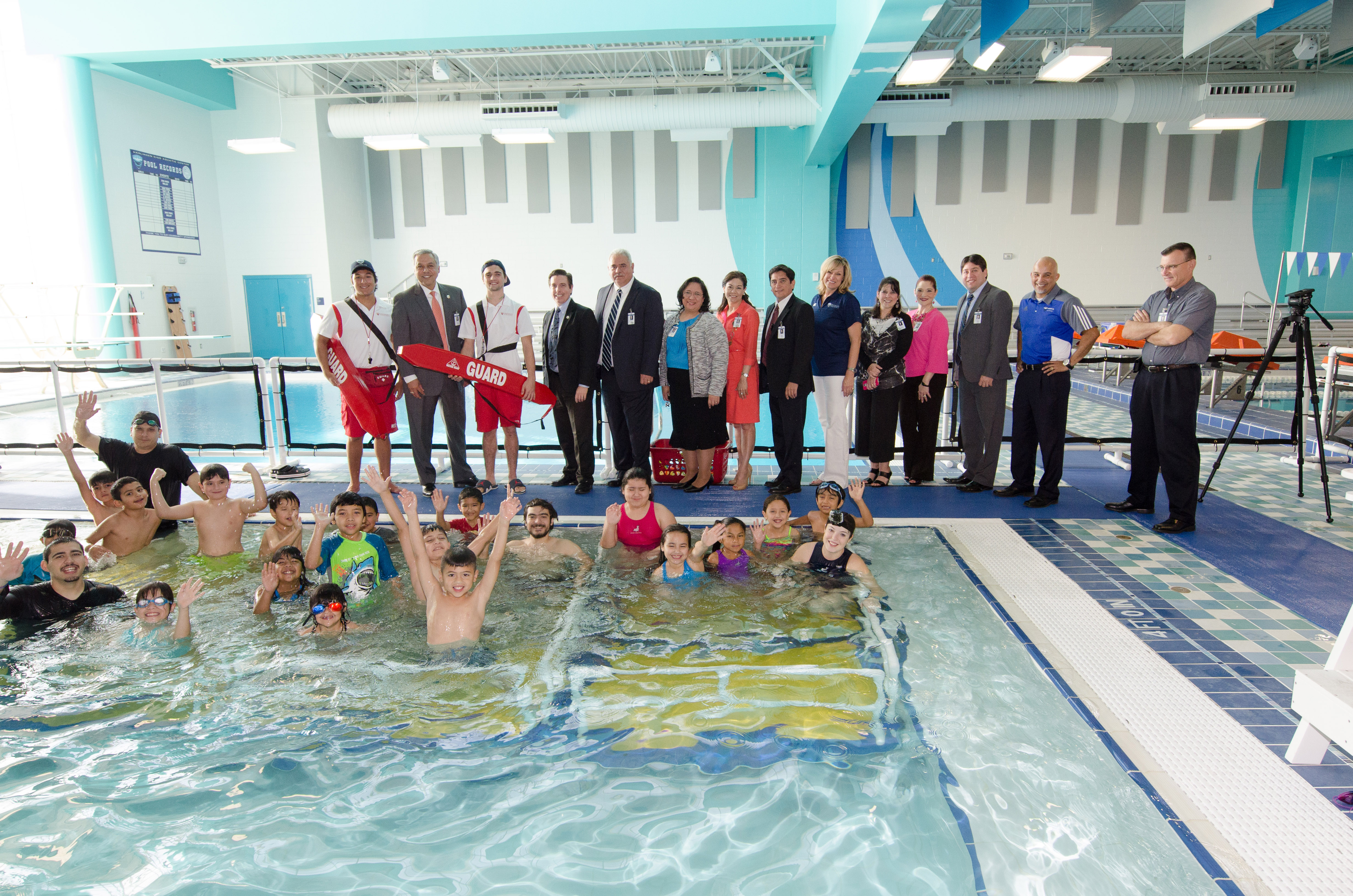 HCISD launches swimming fundamentals and water safety program