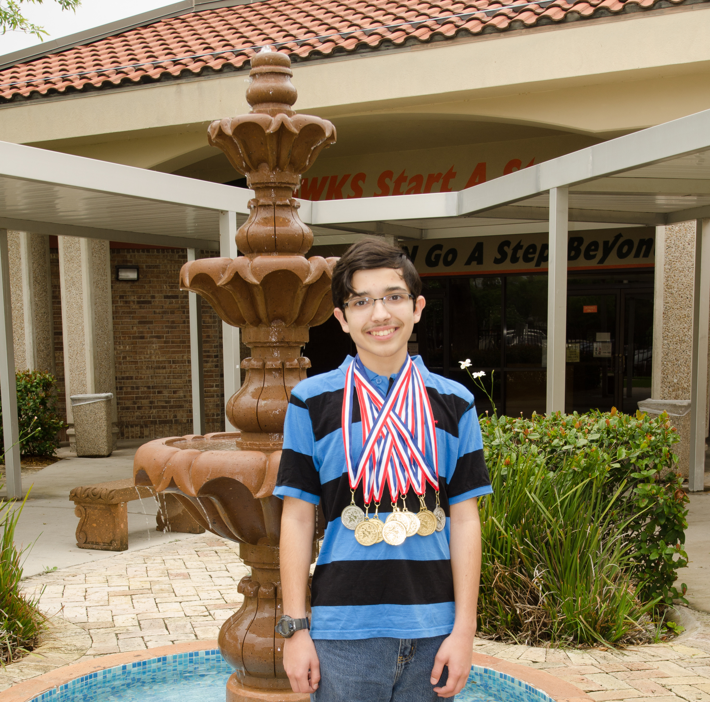 Record year: Math whiz takes over the competition
