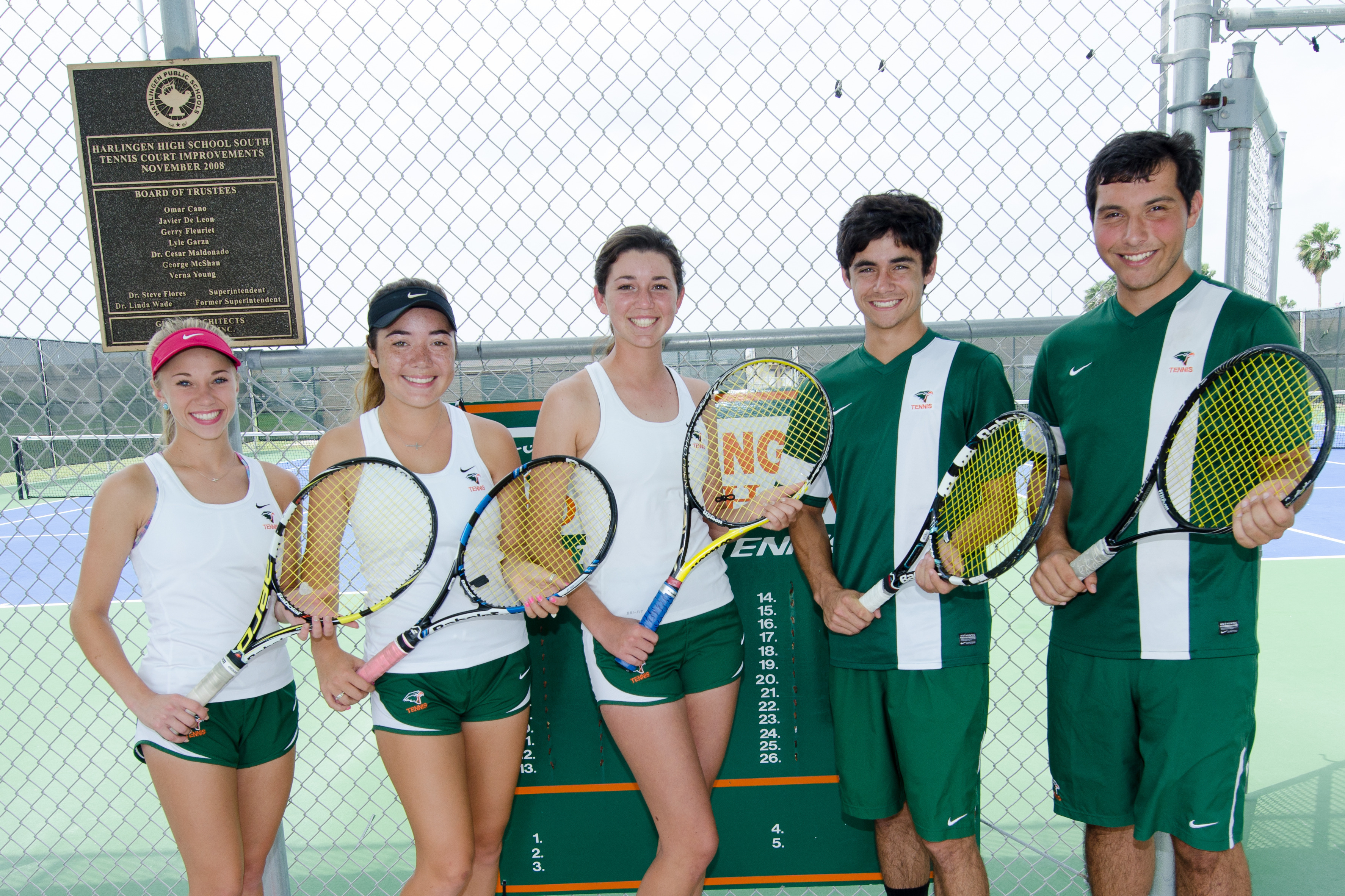 South tennis students recognized as Academic All-State athletes