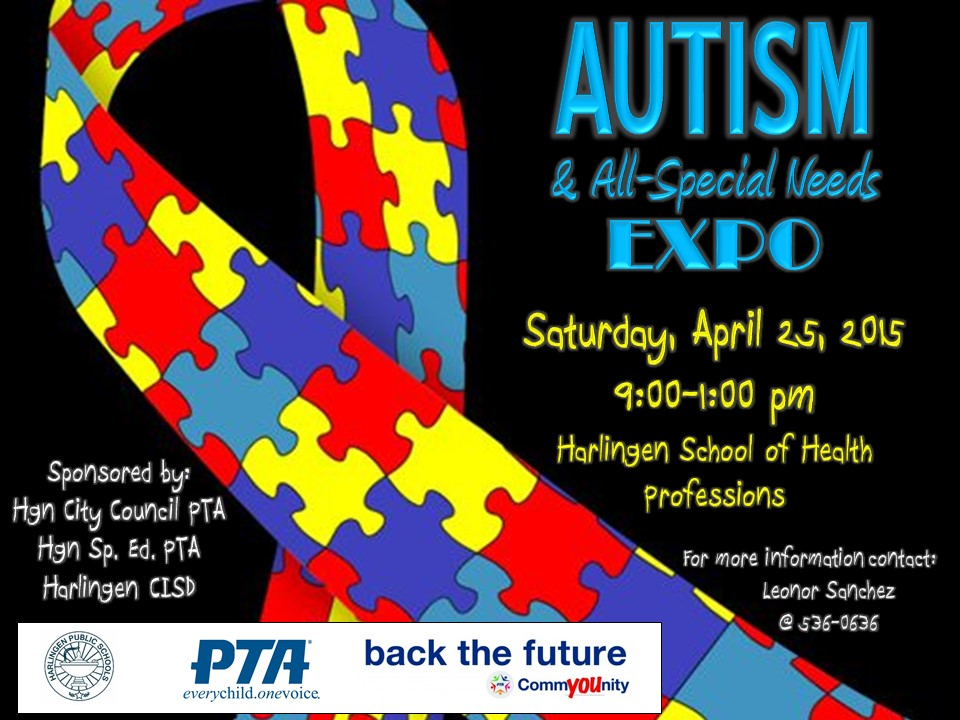 Harlingen City Council PTA to host Autism and All-Special Needs Expo