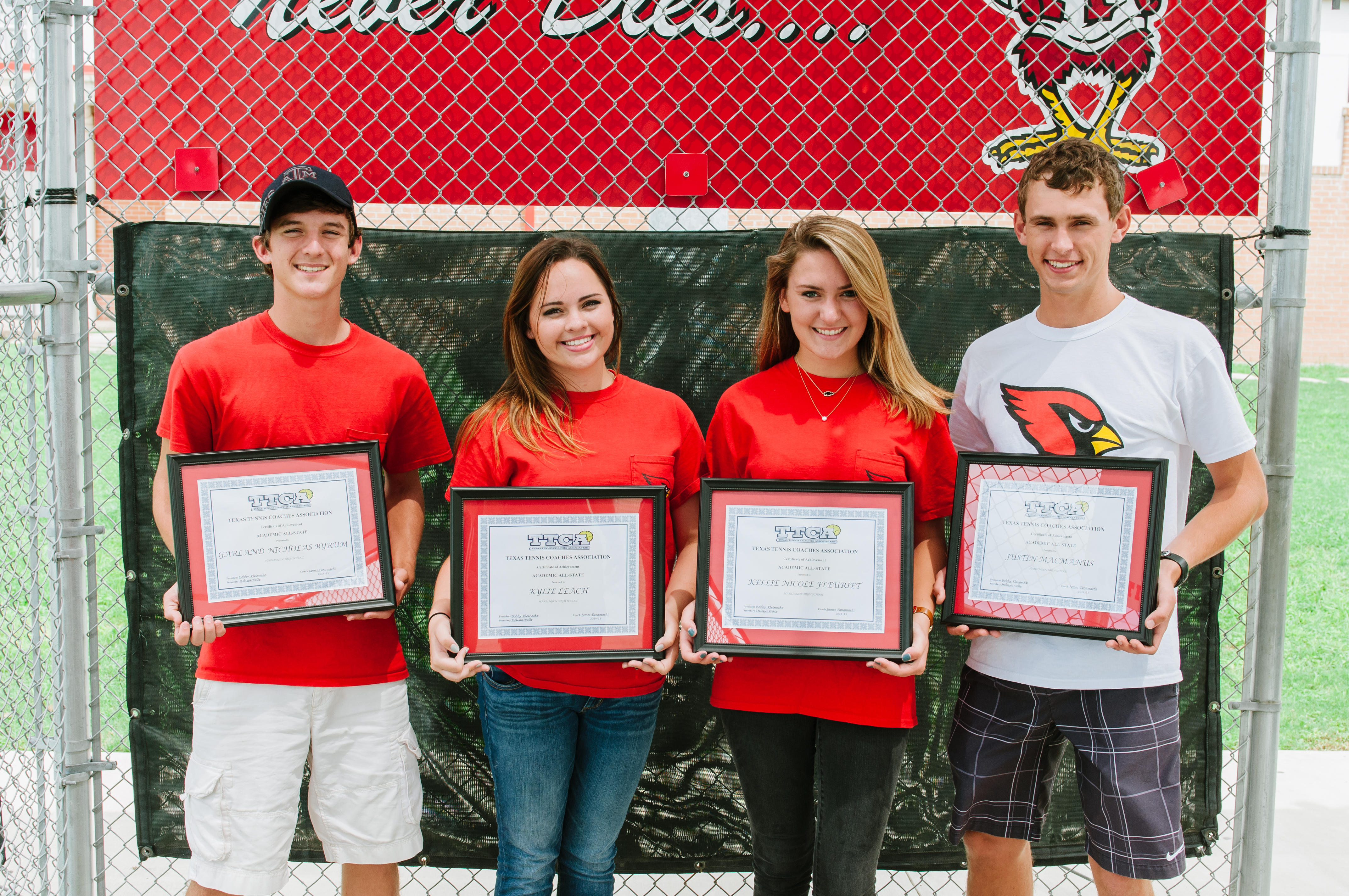 HHS seniors named to TTCA Academic All-State